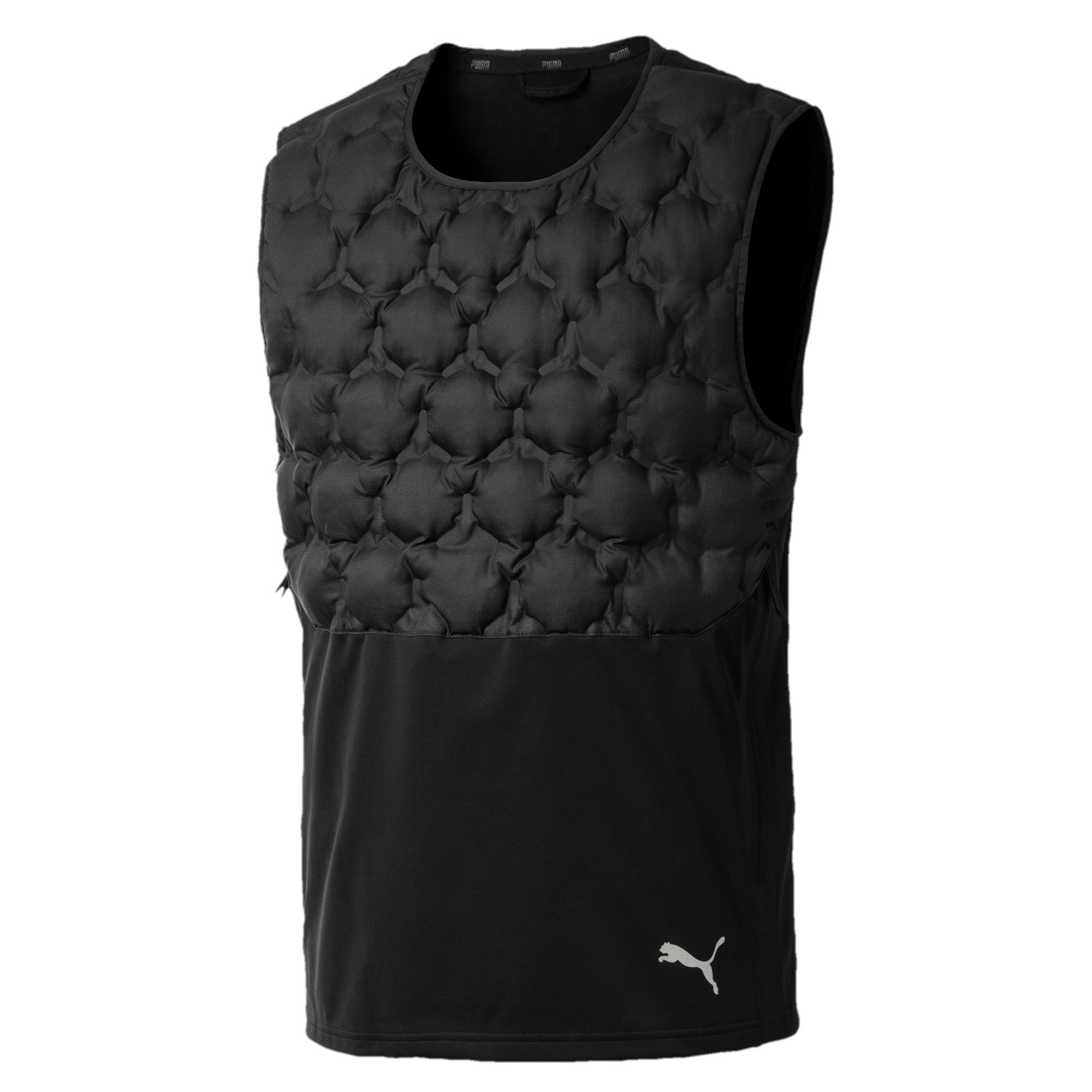 Thumbnail 5 of NeverRunBack Men's Protect Vest, Puma Black, medium-IND