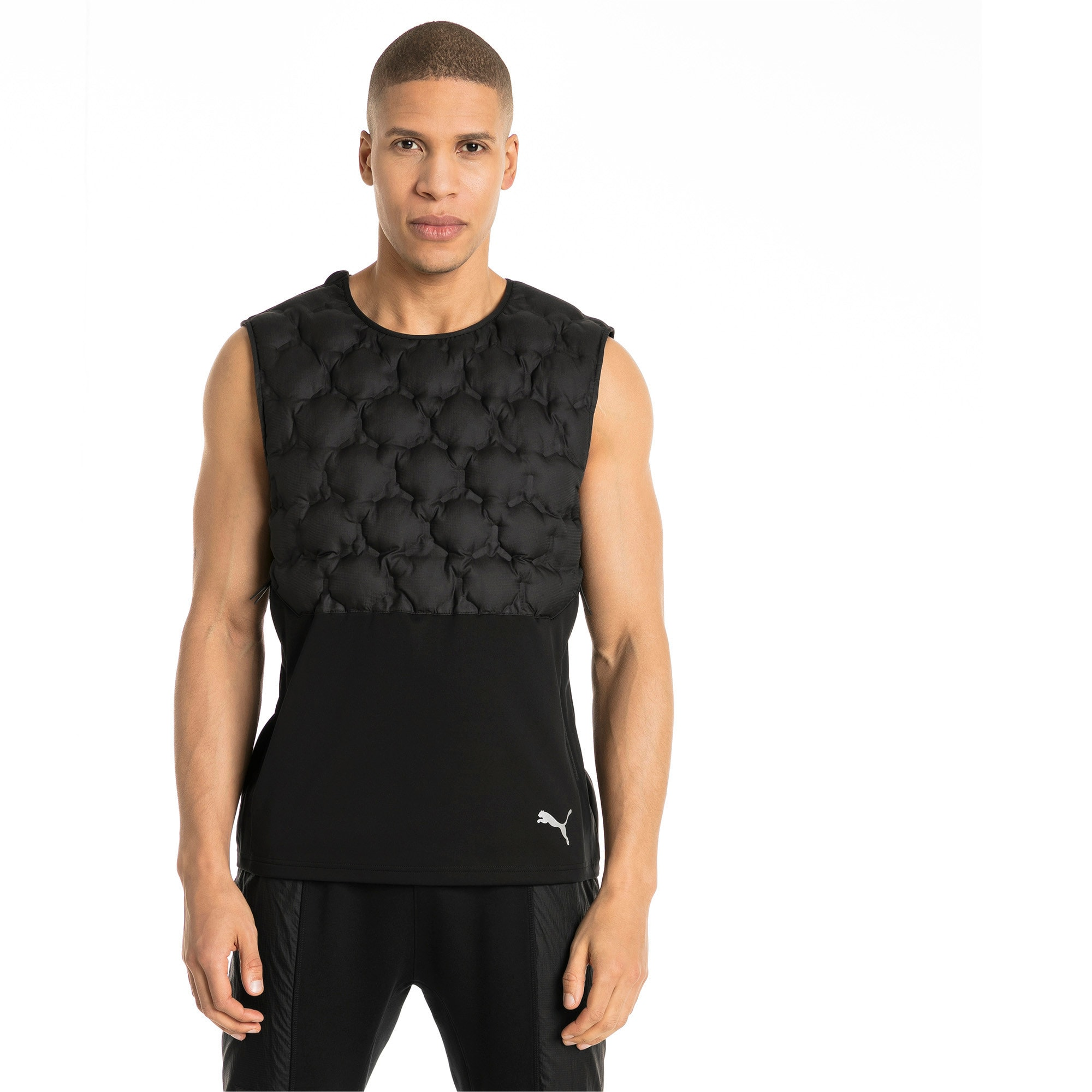 Thumbnail 1 of NeverRunBack Men's Protect Vest, Puma Black, medium-IND