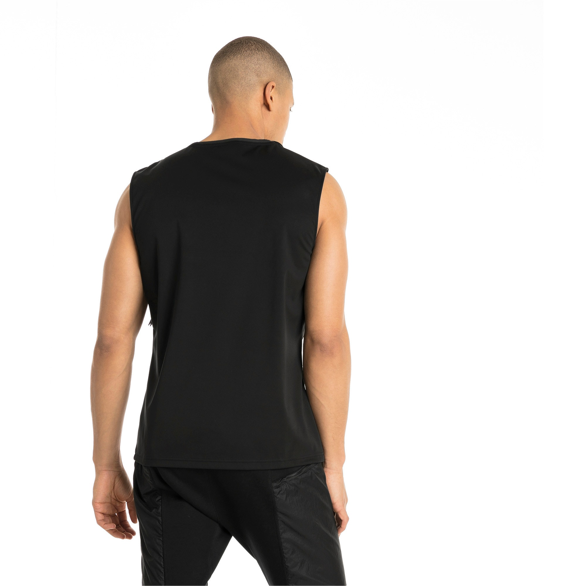 Thumbnail 2 of NeverRunBack Men's Protect Vest, Puma Black, medium-IND