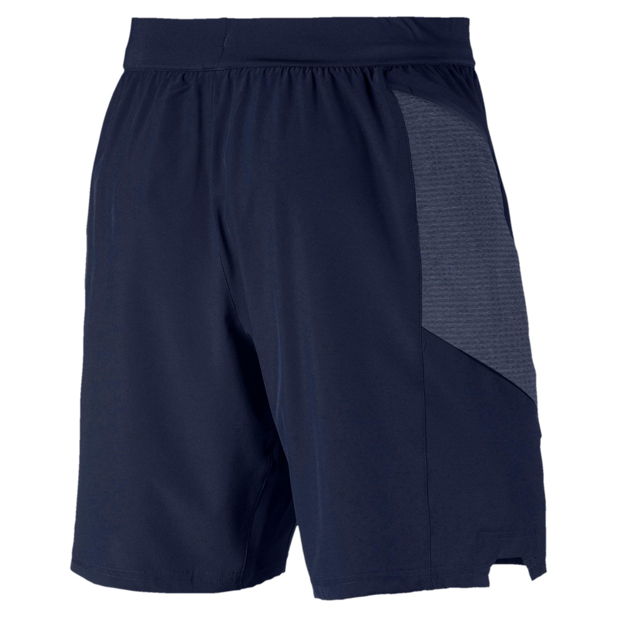 Thumbnail 5 of NeverRunBack 9'' Men's Training Shorts, Peacoat, medium-IND