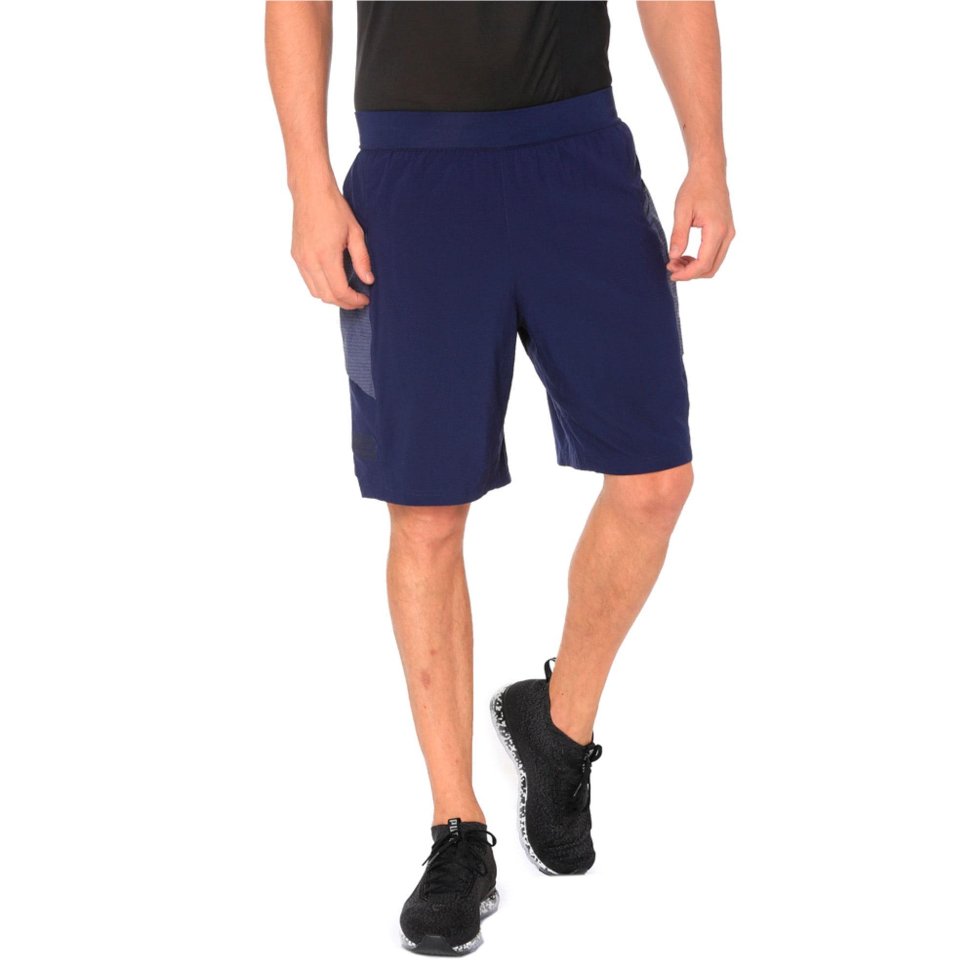 Thumbnail 2 of NeverRunBack 9'' Men's Training Shorts, Peacoat, medium-IND