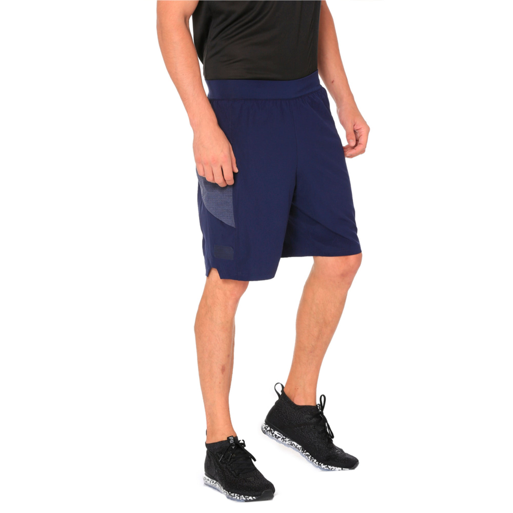 Thumbnail 3 of NeverRunBack 9'' Men's Training Shorts, Peacoat, medium-IND