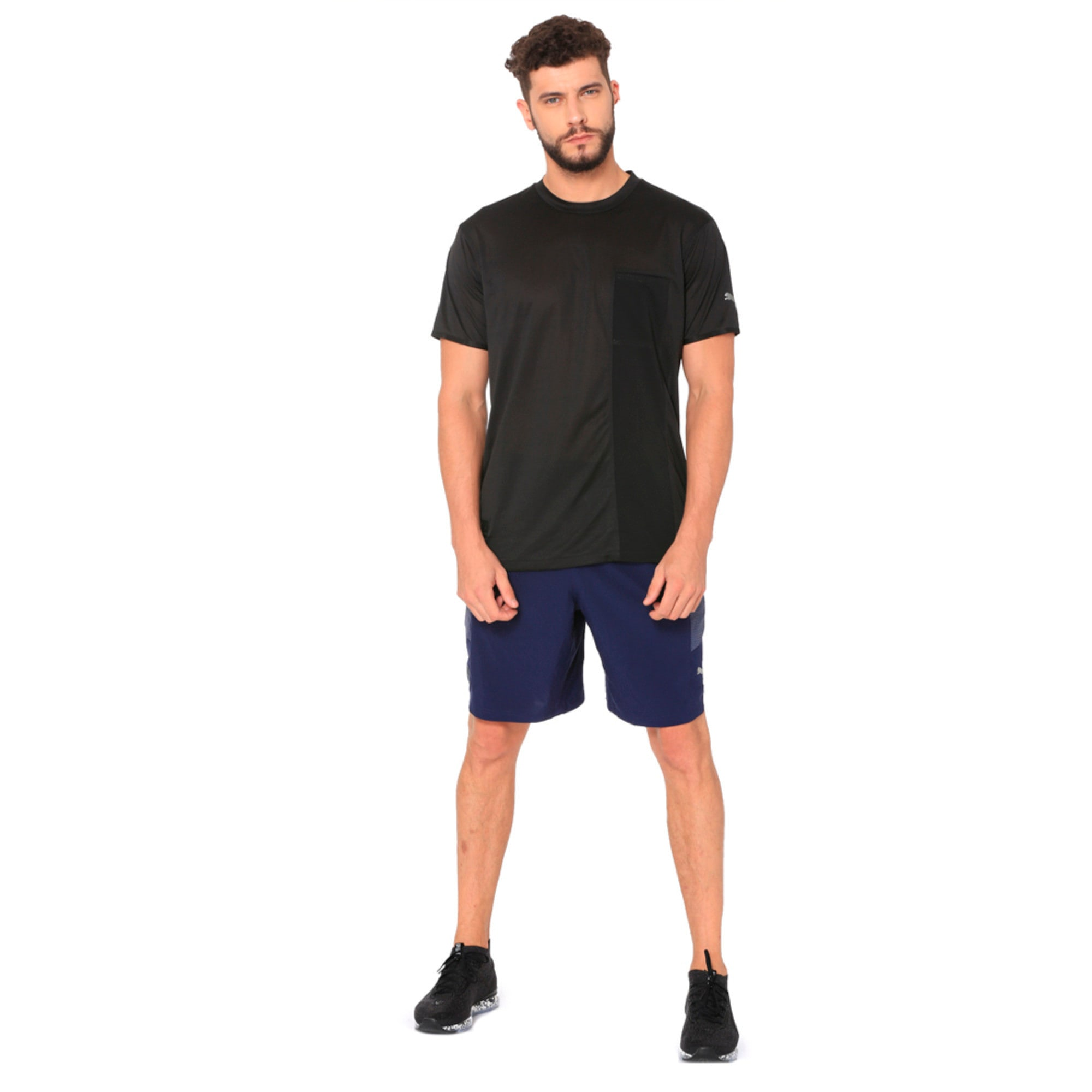 Thumbnail 4 of NeverRunBack 9'' Men's Training Shorts, Peacoat, medium-IND