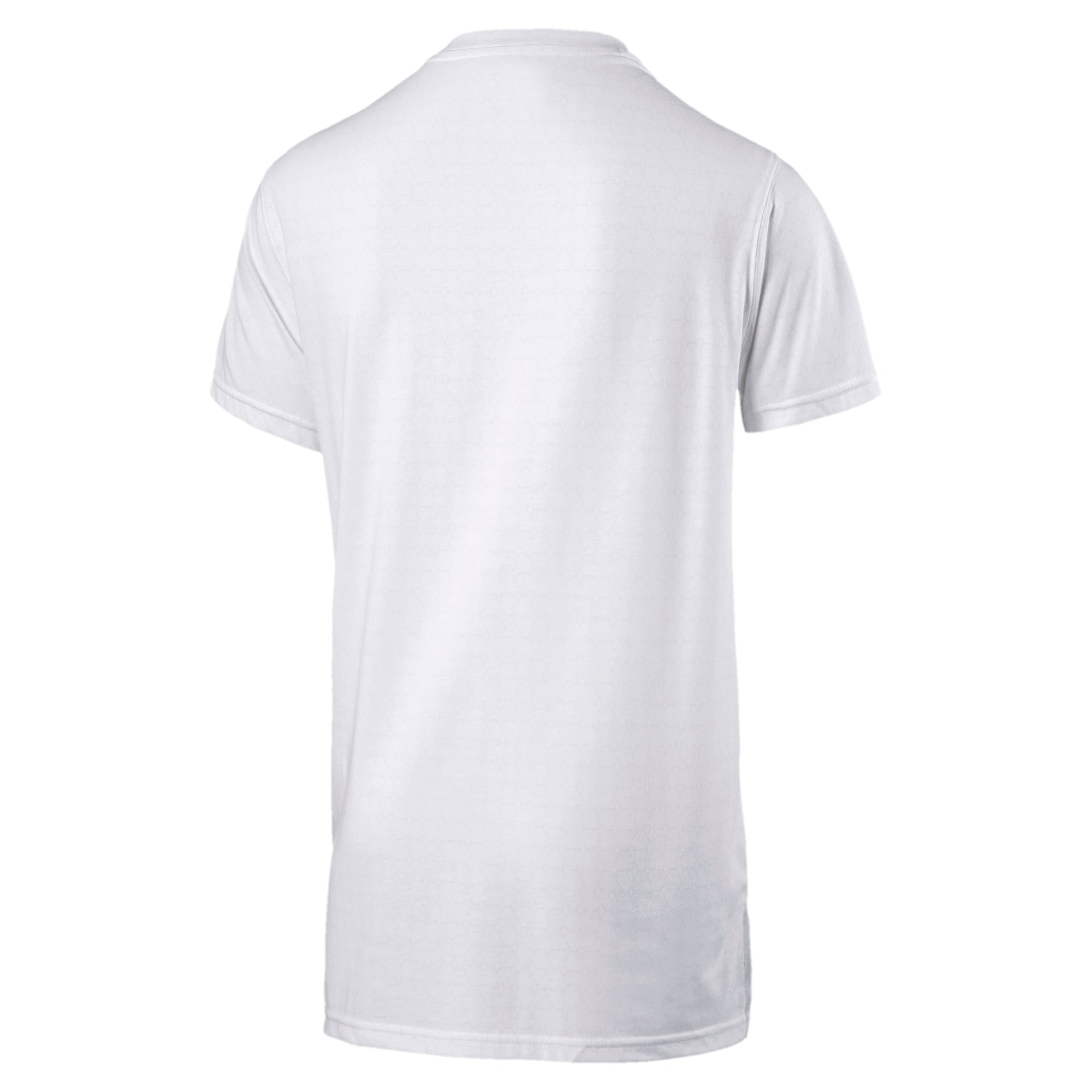 Thumbnail 5 of Energy Triblend Graphic Men's Running Tee, Puma White, medium-IND