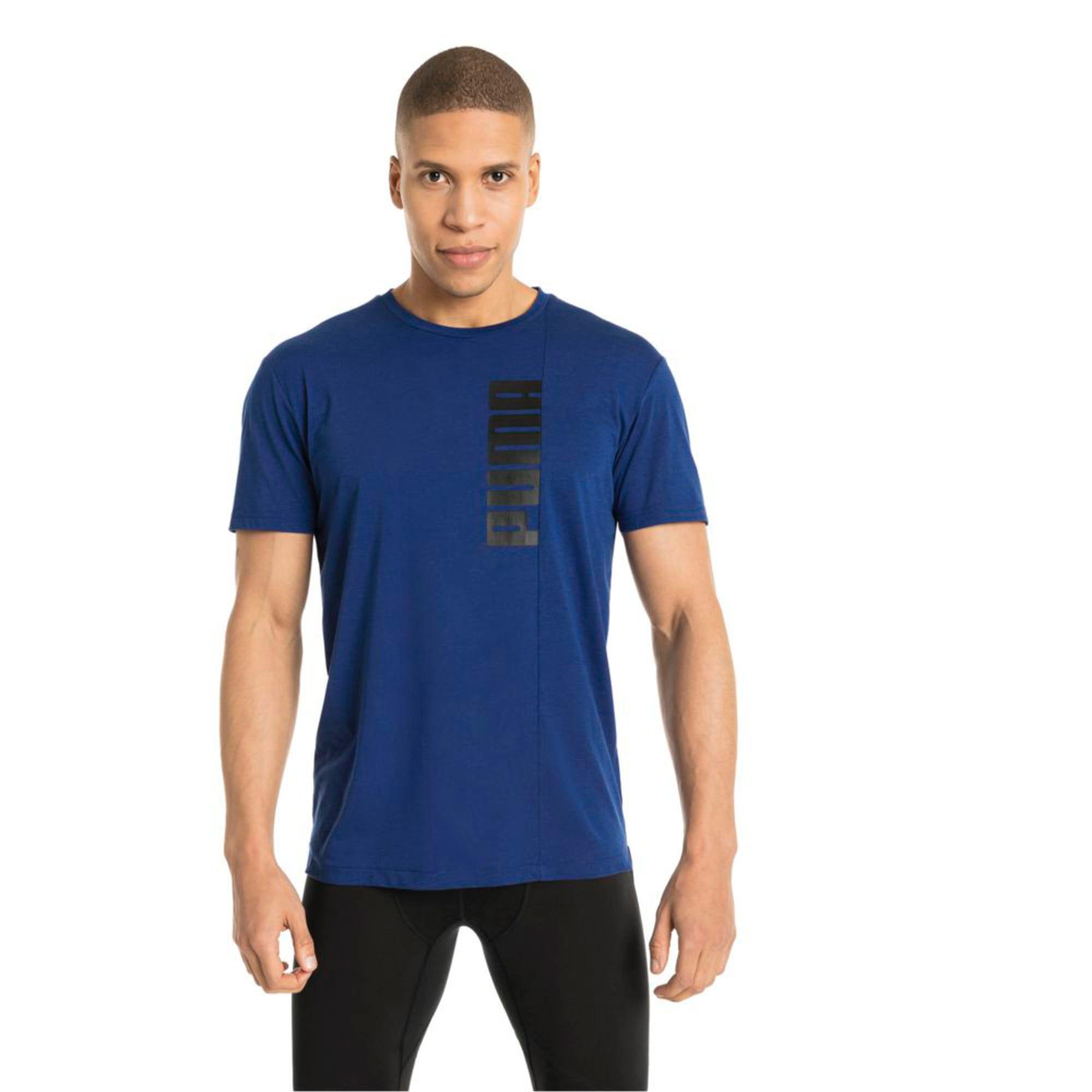 Thumbnail 3 of Energy Triblend Graphic Men's Running Tee, Sodalite Blue, medium-IND