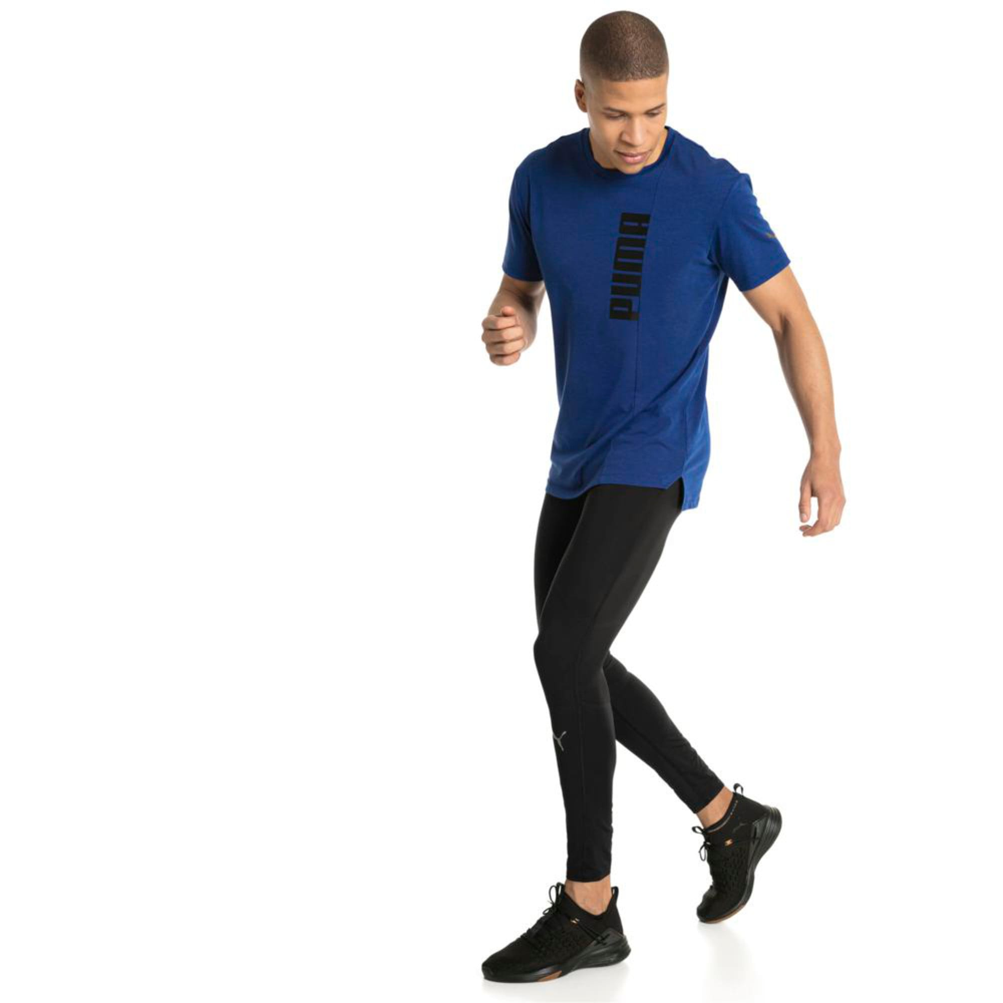 Thumbnail 2 of Energy Triblend Graphic Men's Running Tee, Sodalite Blue, medium-IND