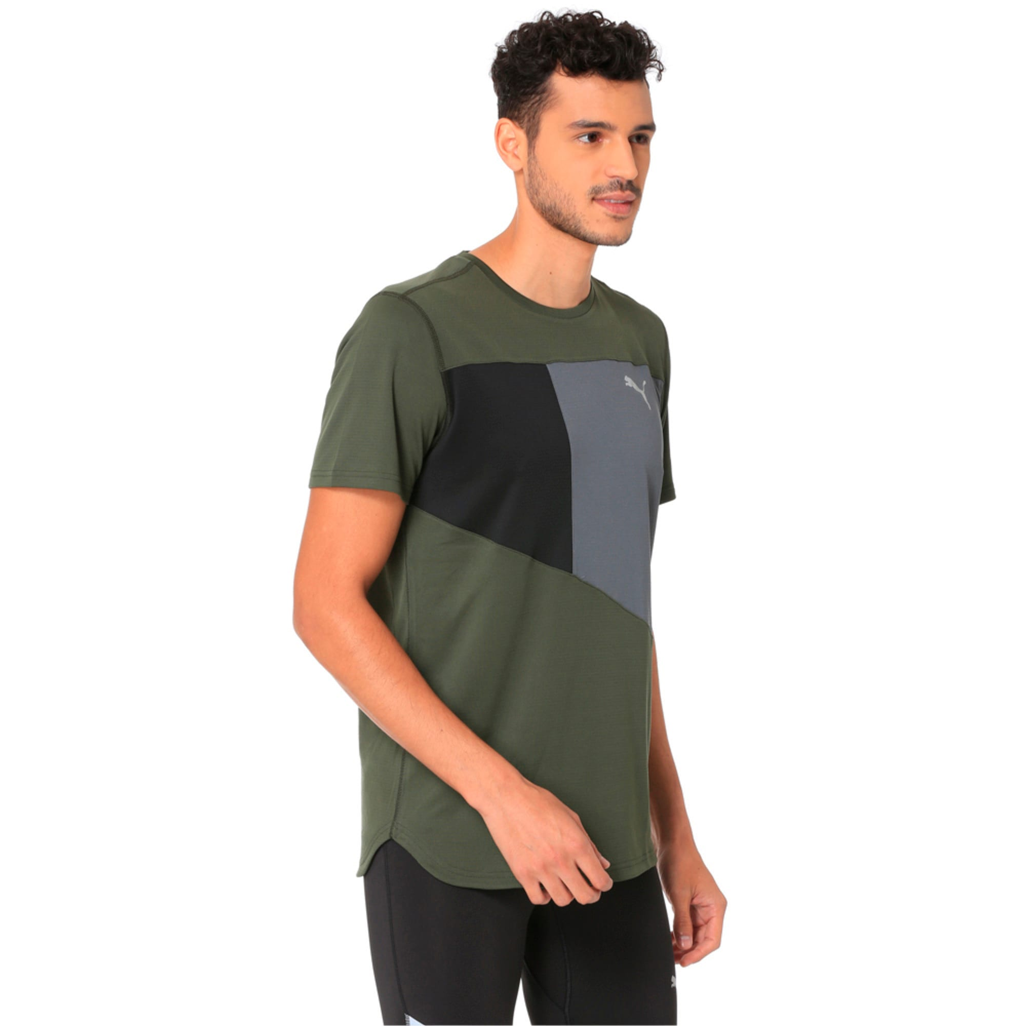 Thumbnail 2 of IGNITE Short Sleeve Men's Running Tee, Forest Night-Iron Gate, medium-IND