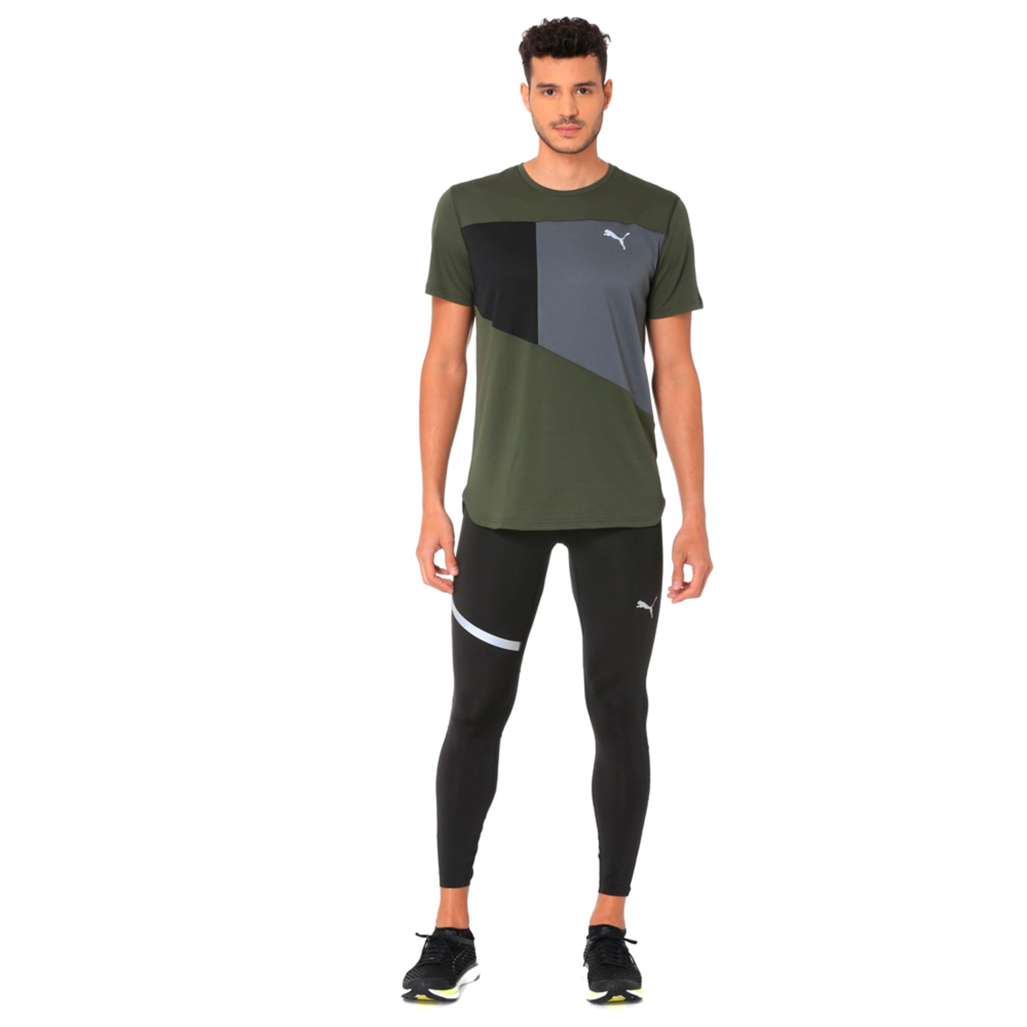 Thumbnail 3 of IGNITE Short Sleeve Men's Running Tee, Forest Night-Iron Gate, medium-IND