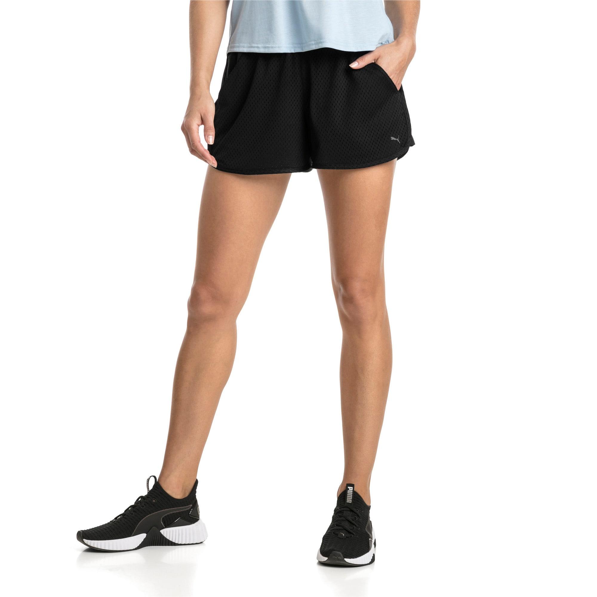 Thumbnail 1 of A.C.E. Mesh Women's Shorts, Puma Black, medium-IND