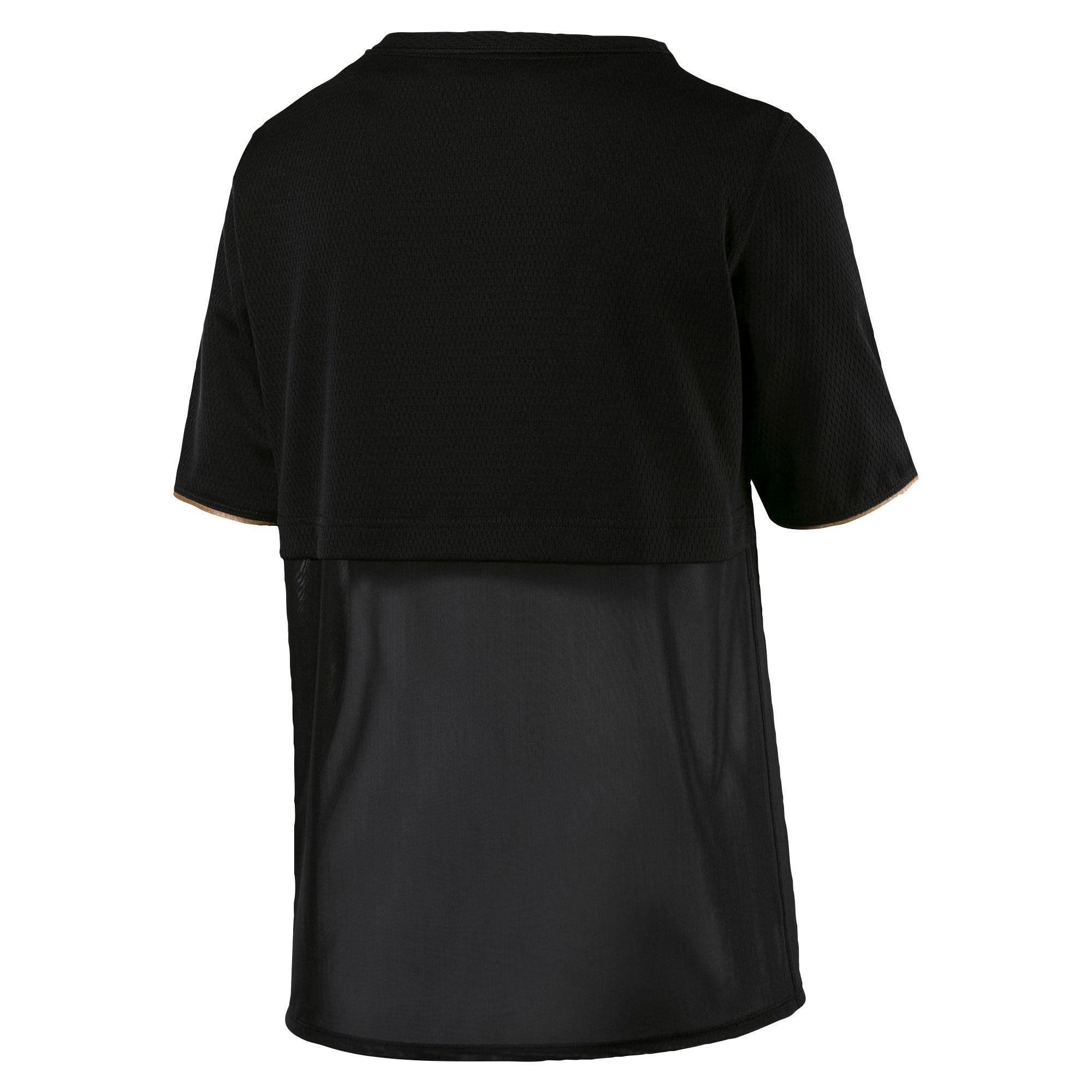 Thumbnail 5 of A.C.E. Reveal Women's Training Top, Puma Black, medium-IND