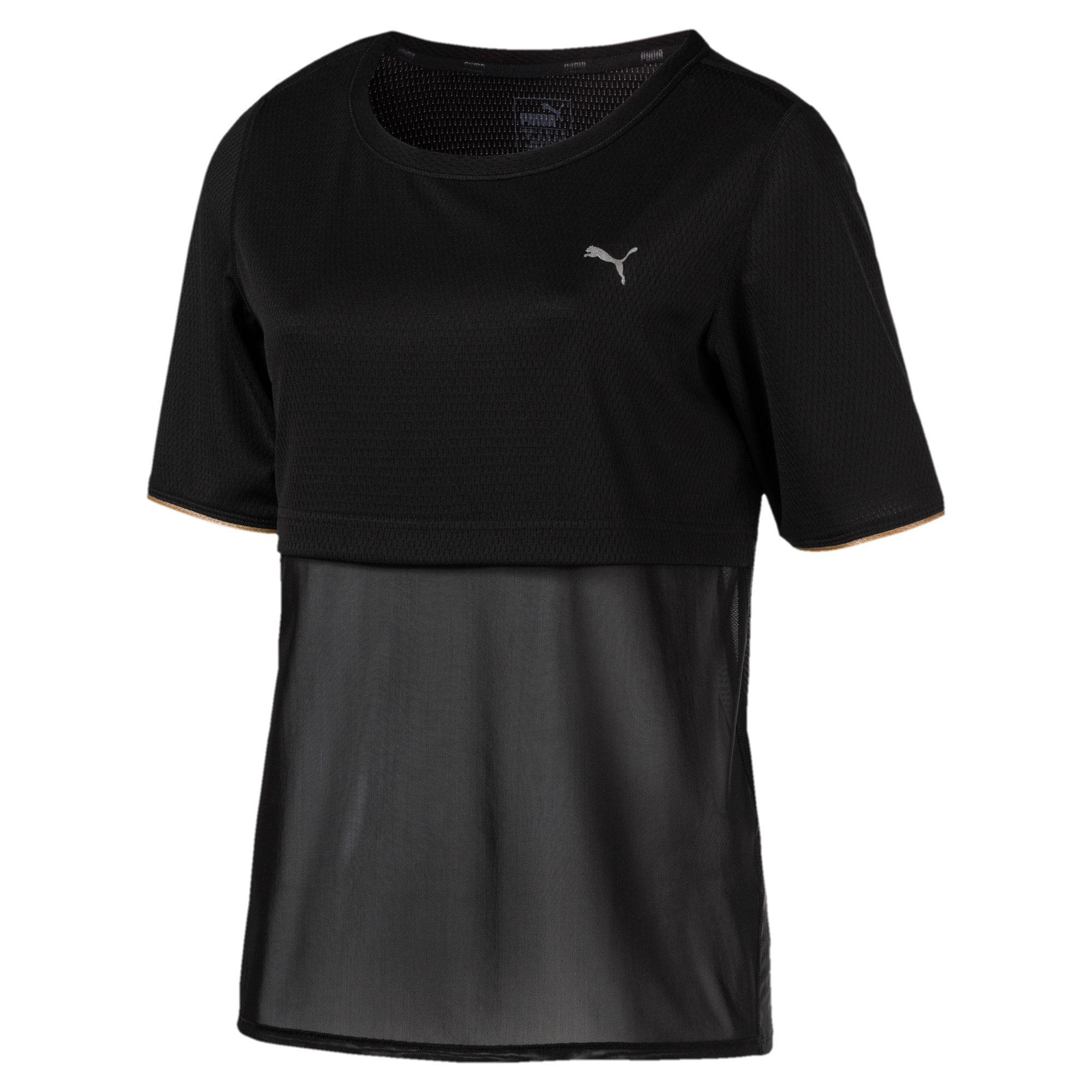 Thumbnail 1 of A.C.E. Reveal Women's Training Top, Puma Black, medium-IND