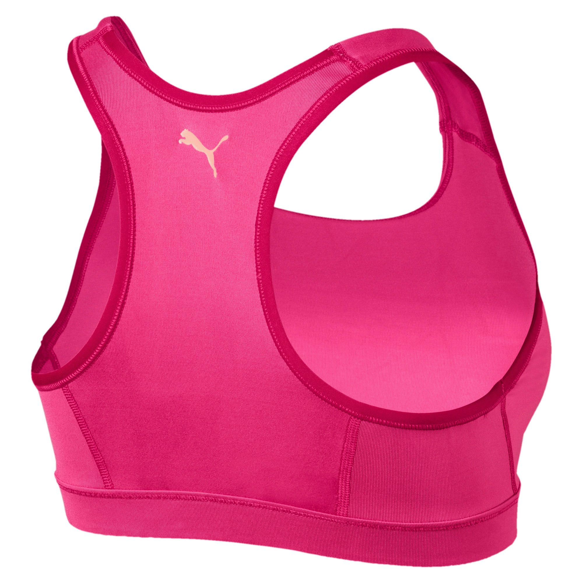 Thumbnail 5 of 4Keeps Mid Impact Women's Bra Top, Fuchsia Purple-CF PUMA, medium