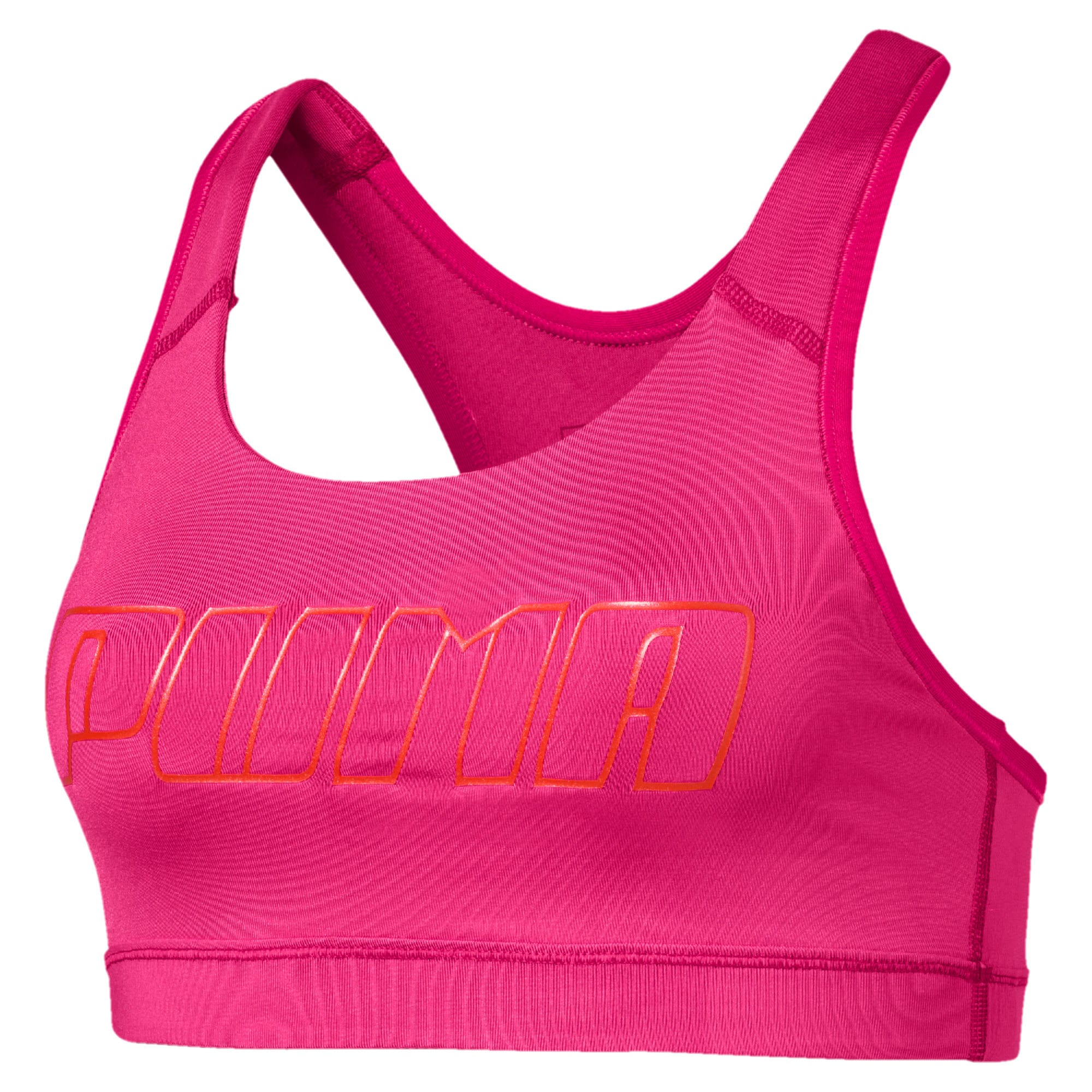 Thumbnail 4 of 4Keeps Mid Impact Women's Bra Top, Fuchsia Purple-CF PUMA, medium
