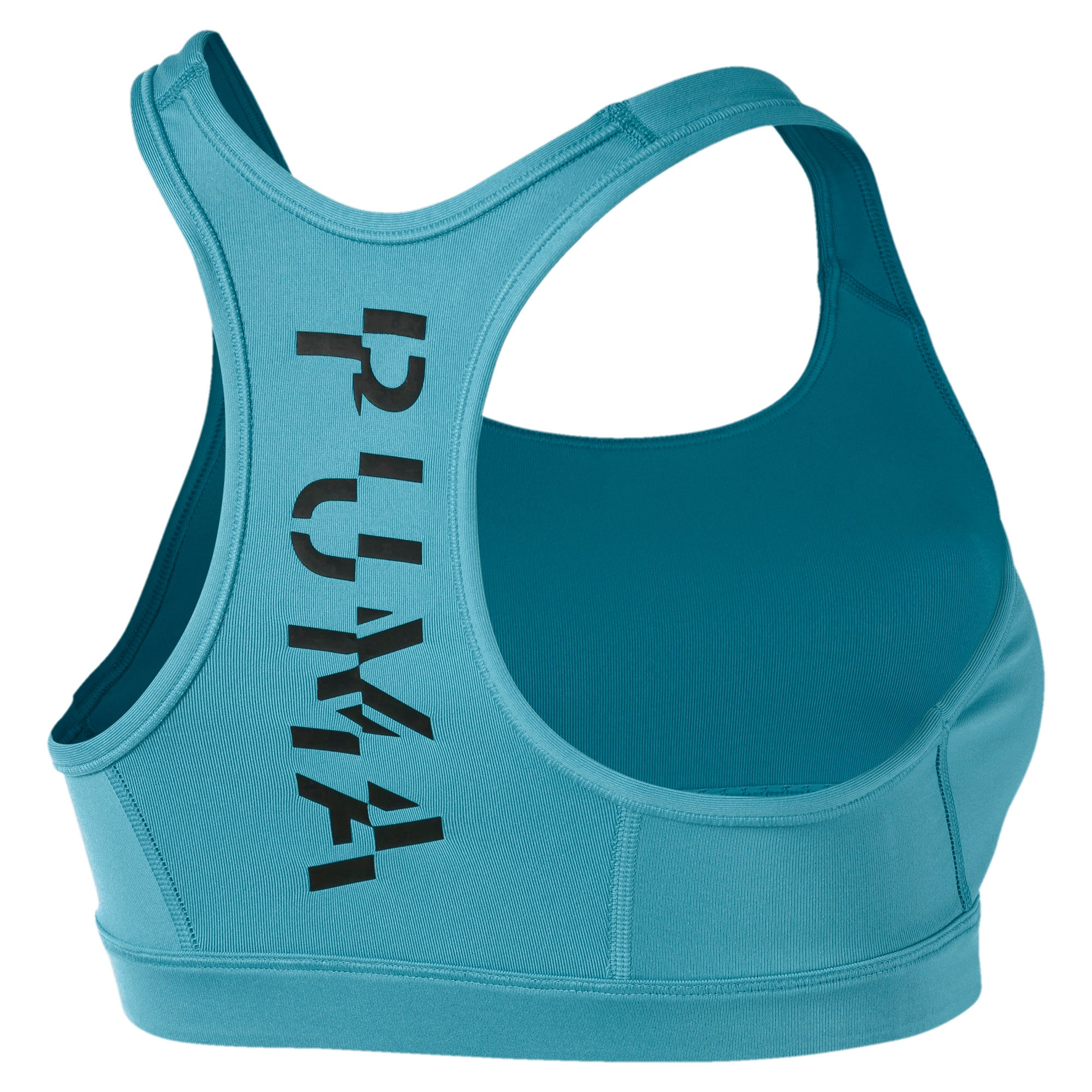 Thumbnail 5 of 4Keeps Mid Impact Women's Bra Top, Milky Blue, medium