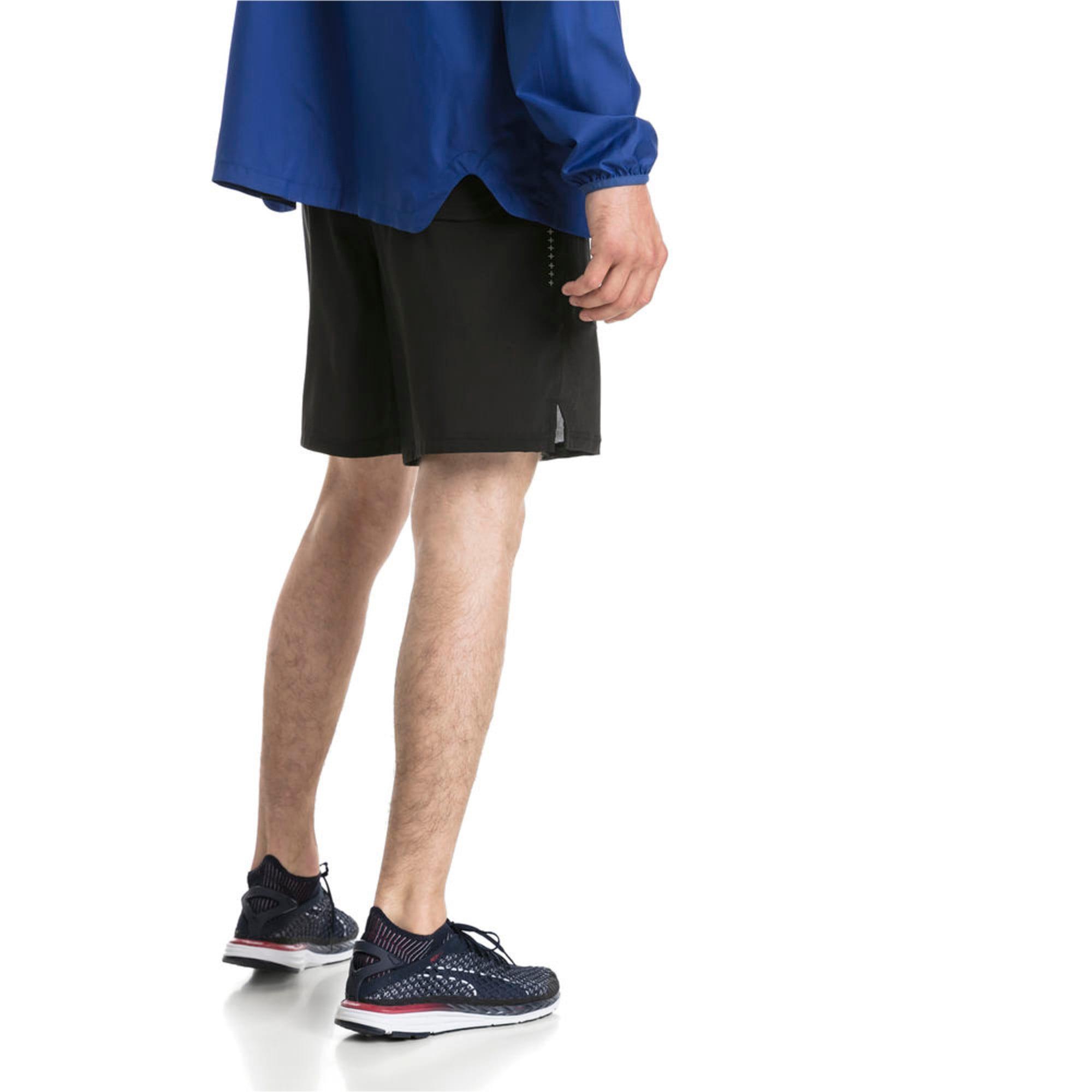 "Thumbnail 4 of Ignite 7"" Men's Running Shorts, Puma Black, medium-IND"