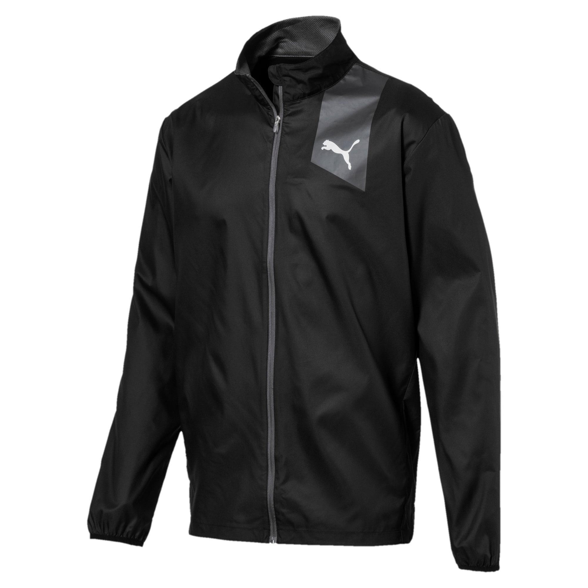Thumbnail 4 of Running Men's IGNITE Jacket, Puma Black--black, medium-IND