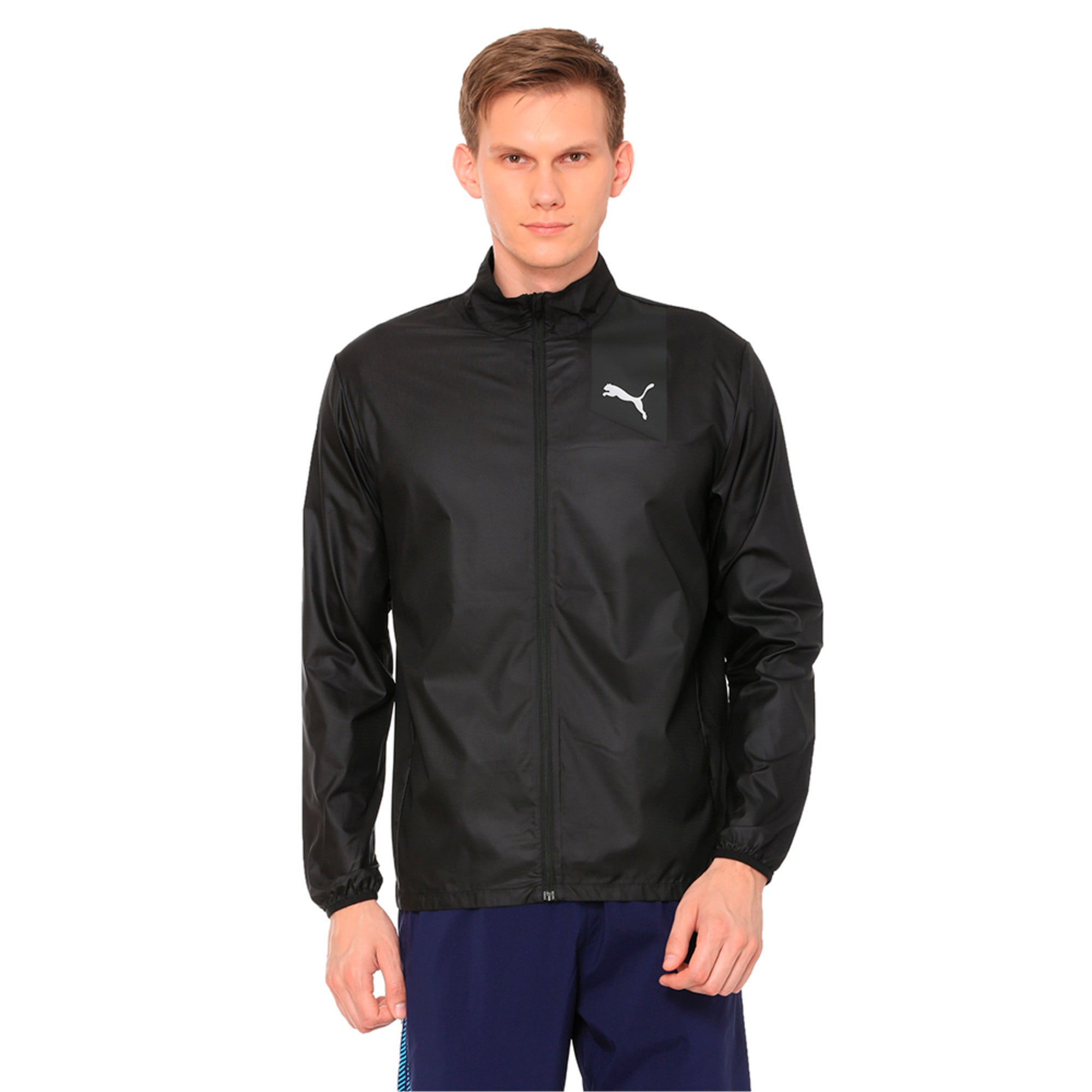 Thumbnail 1 of Running Men's IGNITE Jacket, Puma Black--black, medium-IND