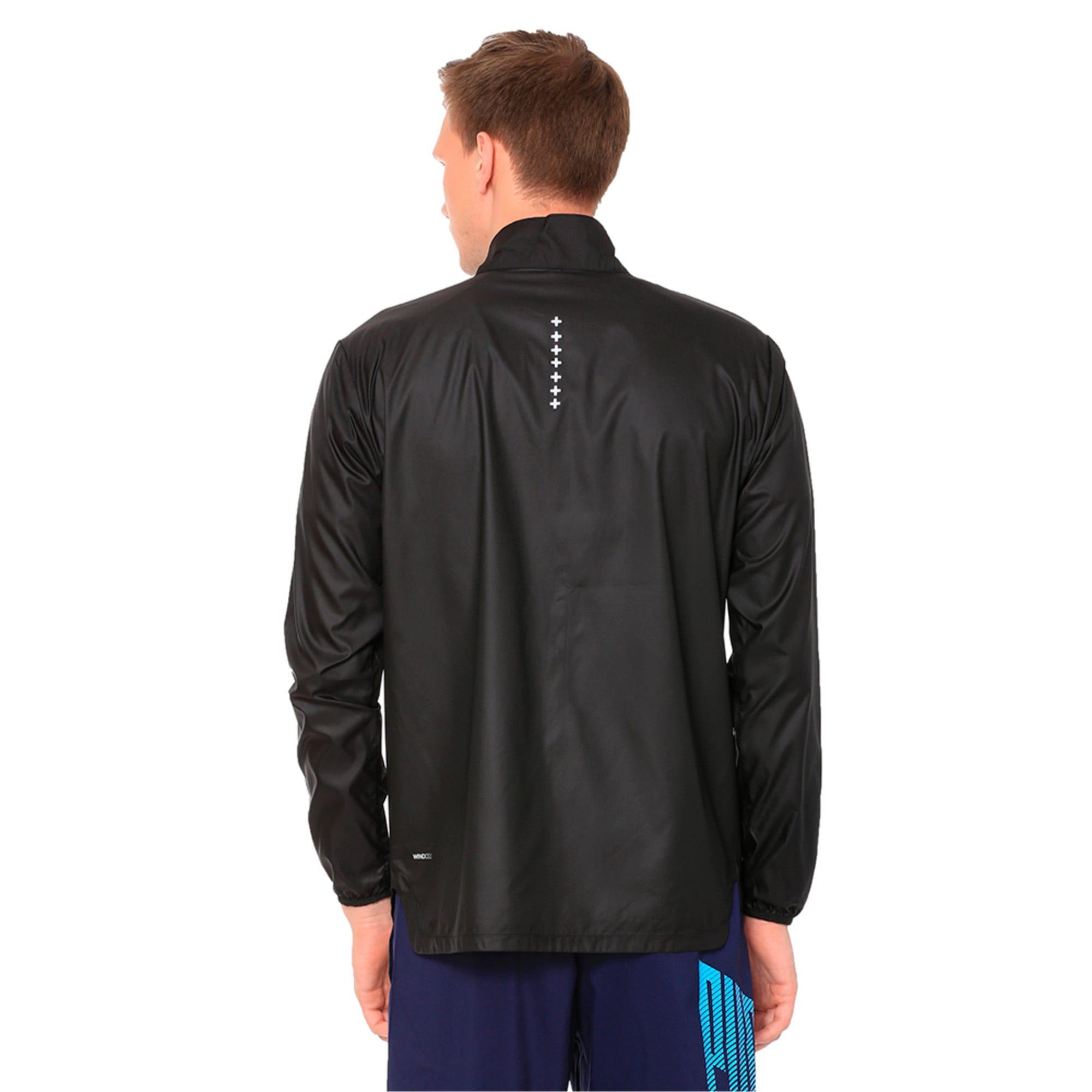 Thumbnail 2 of Running Men's IGNITE Jacket, Puma Black--black, medium-IND
