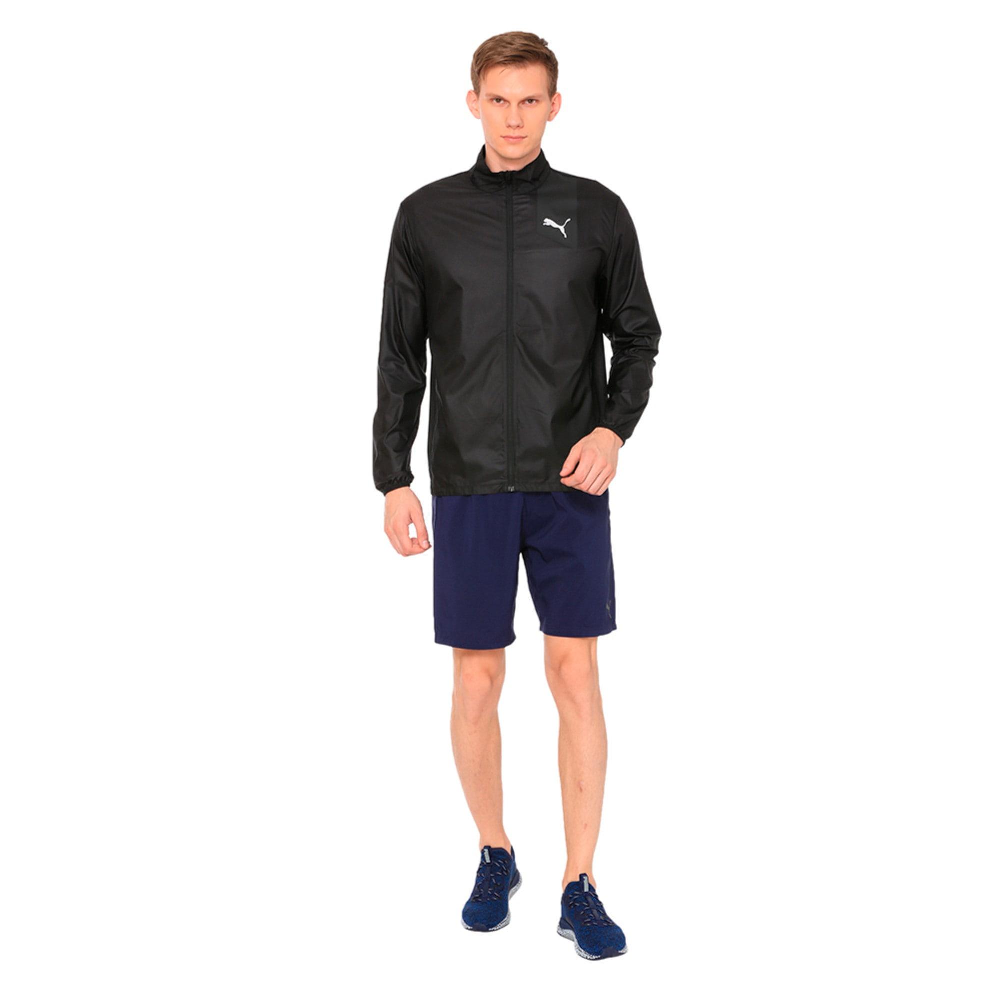 Thumbnail 3 of Running Men's IGNITE Jacket, Puma Black--black, medium-IND