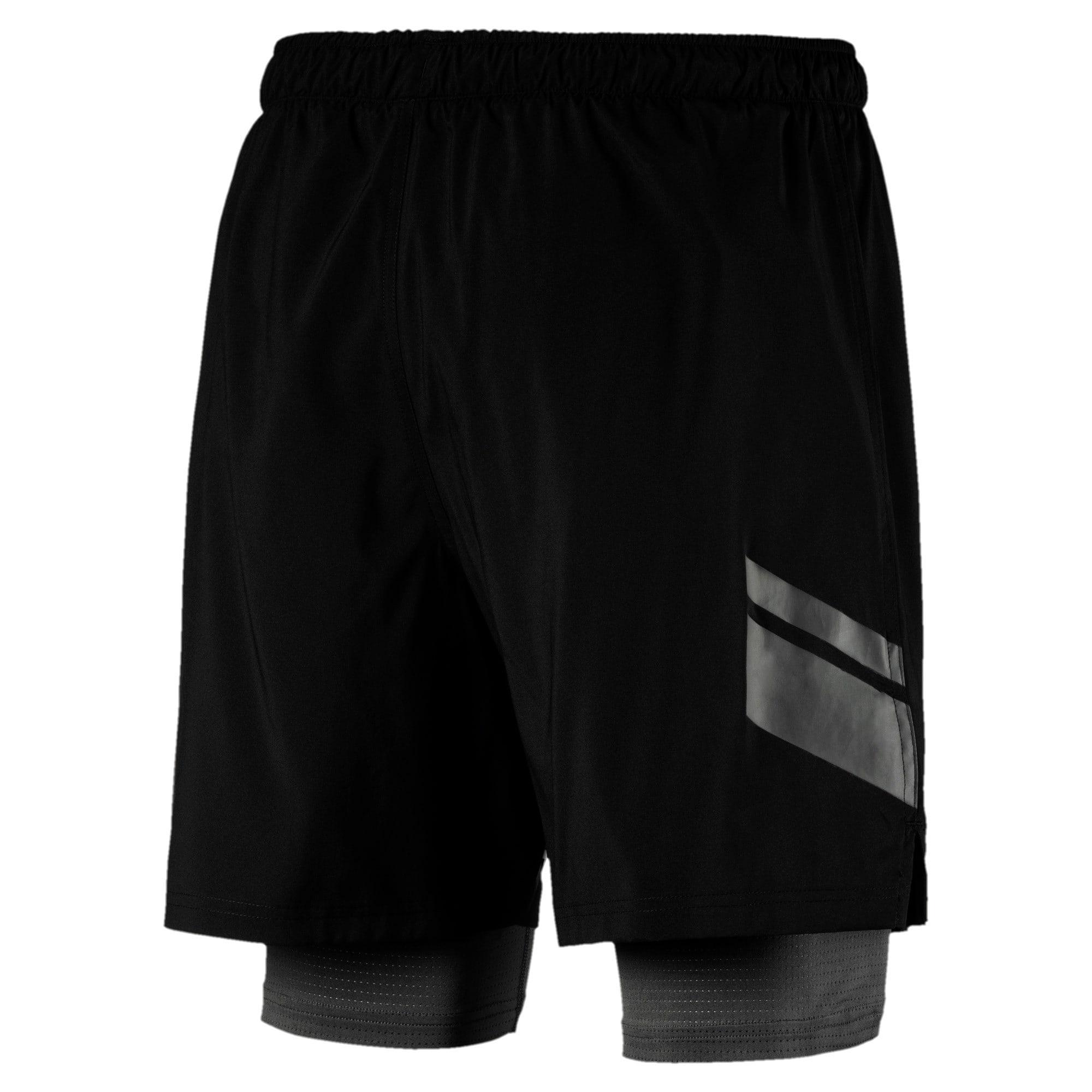 Thumbnail 5 of Running Men's IGNITE 2-in-1 Shorts, Puma Black, medium-IND