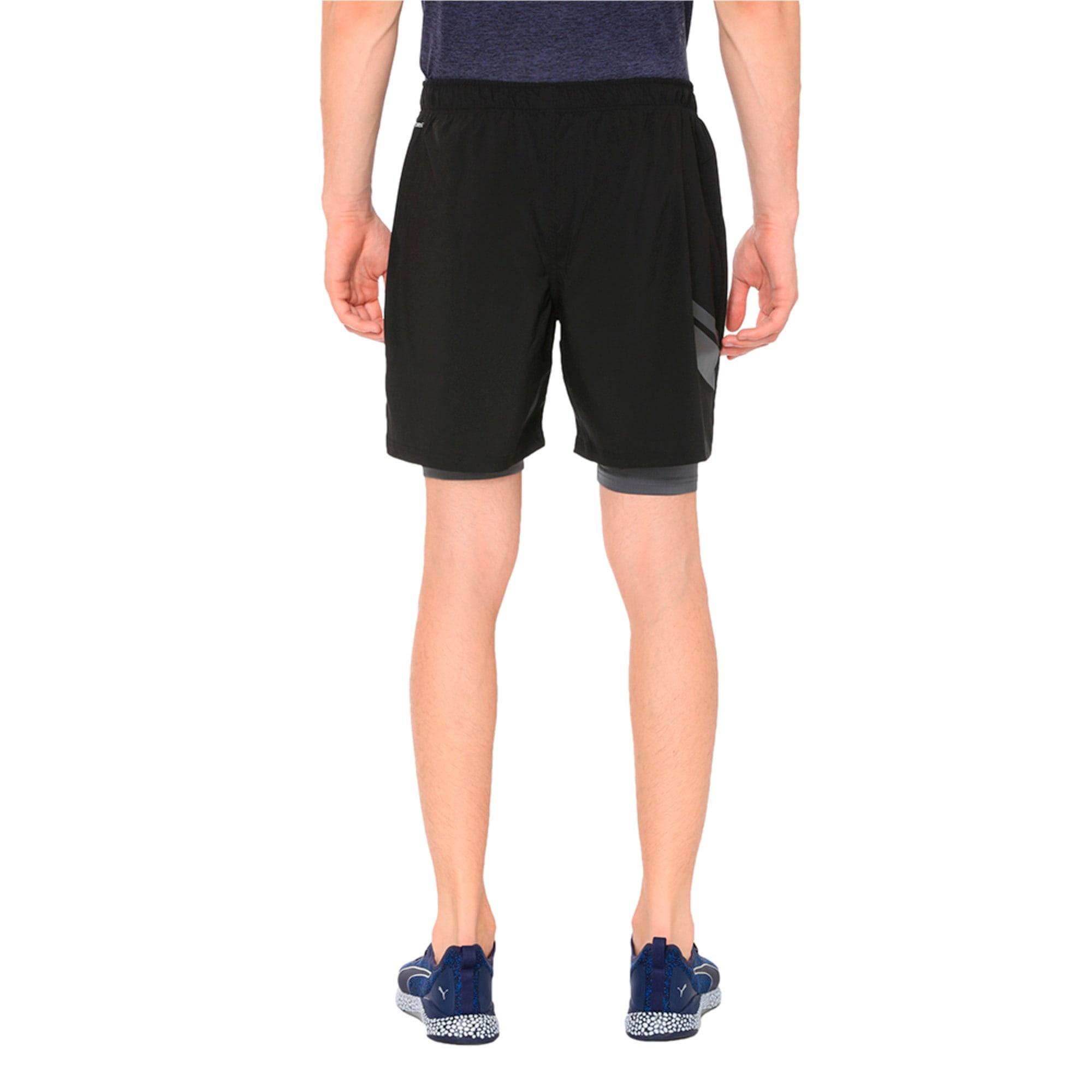 Thumbnail 2 of Running Men's IGNITE 2-in-1 Shorts, Puma Black, medium-IND