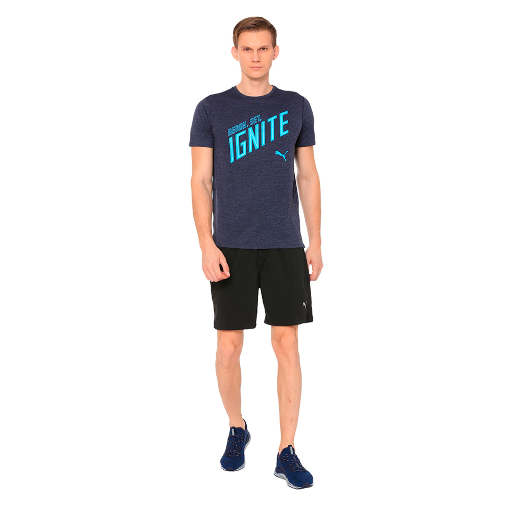 Thumbnail 3 of Running Men's IGNITE 2-in-1 Shorts, Puma Black, medium-IND