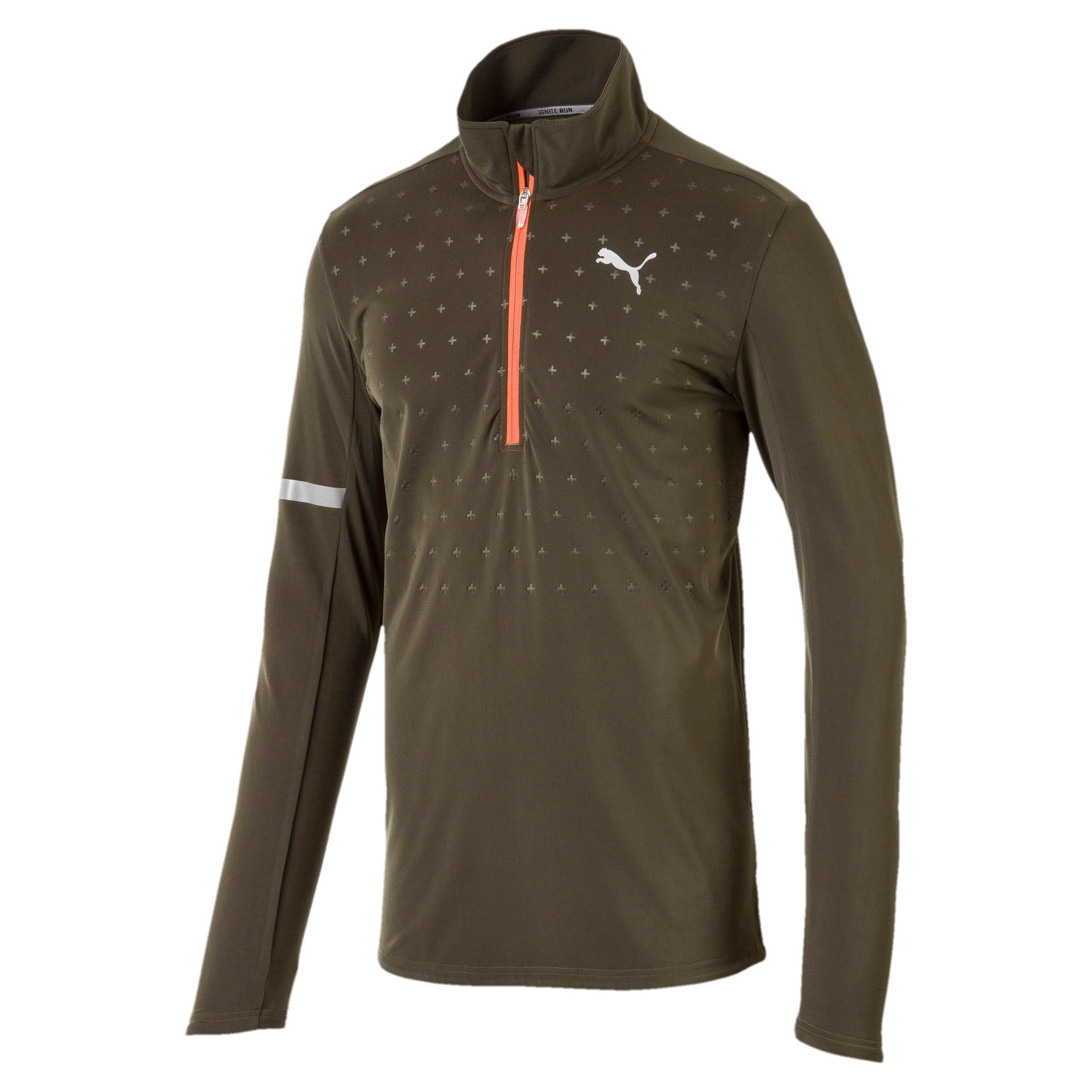 Thumbnail 1 of PACE Midlayer Puma Black, Forest Night, medium-IND