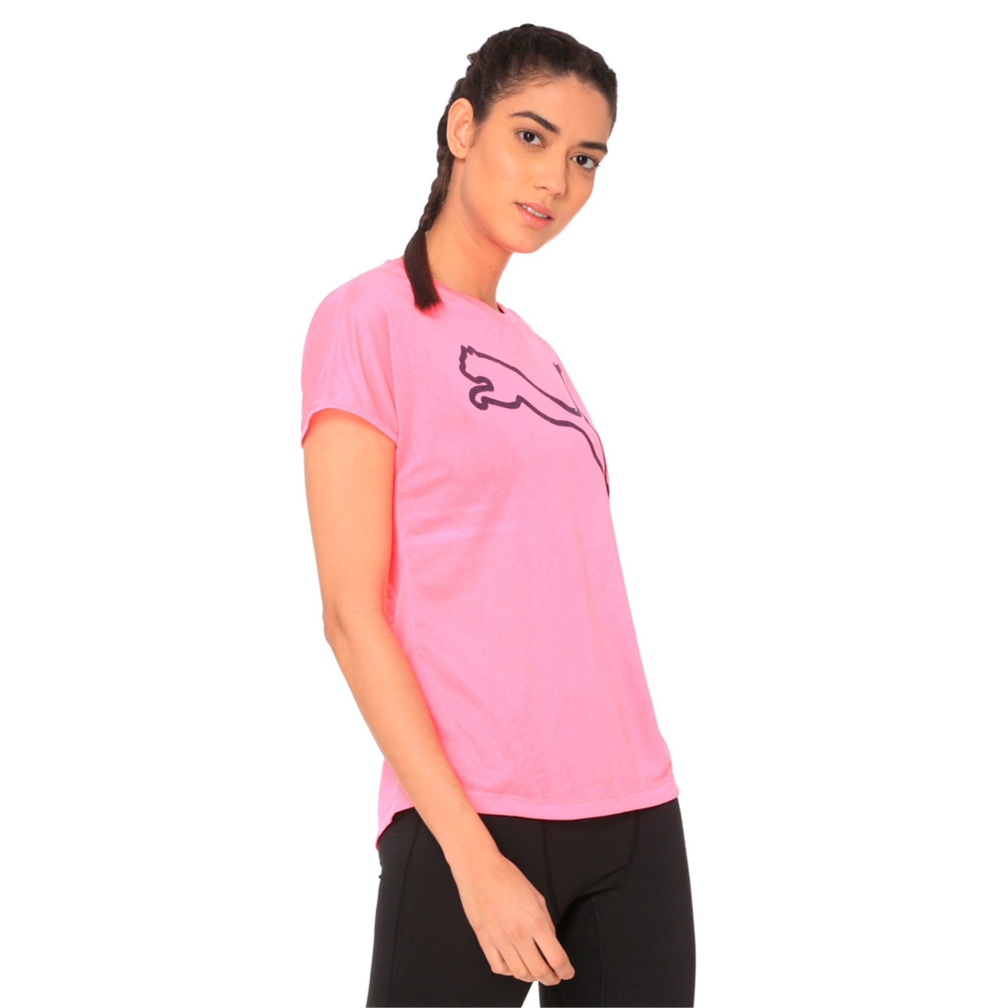 Thumbnail 2 of A.C.E. Crew Neck Women's T-Shirt, KNOCKOUT PINK, medium-IND