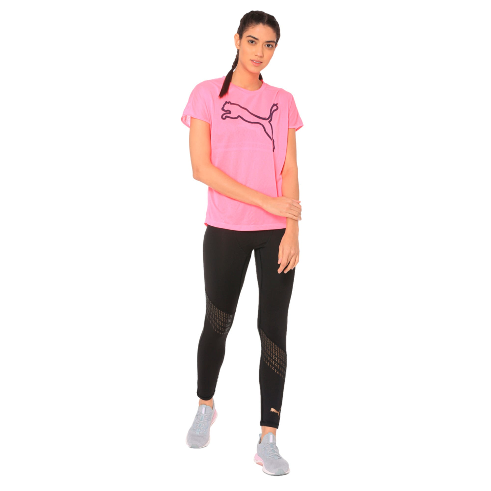 Thumbnail 3 of A.C.E. Crew Neck Women's T-Shirt, KNOCKOUT PINK, medium-IND