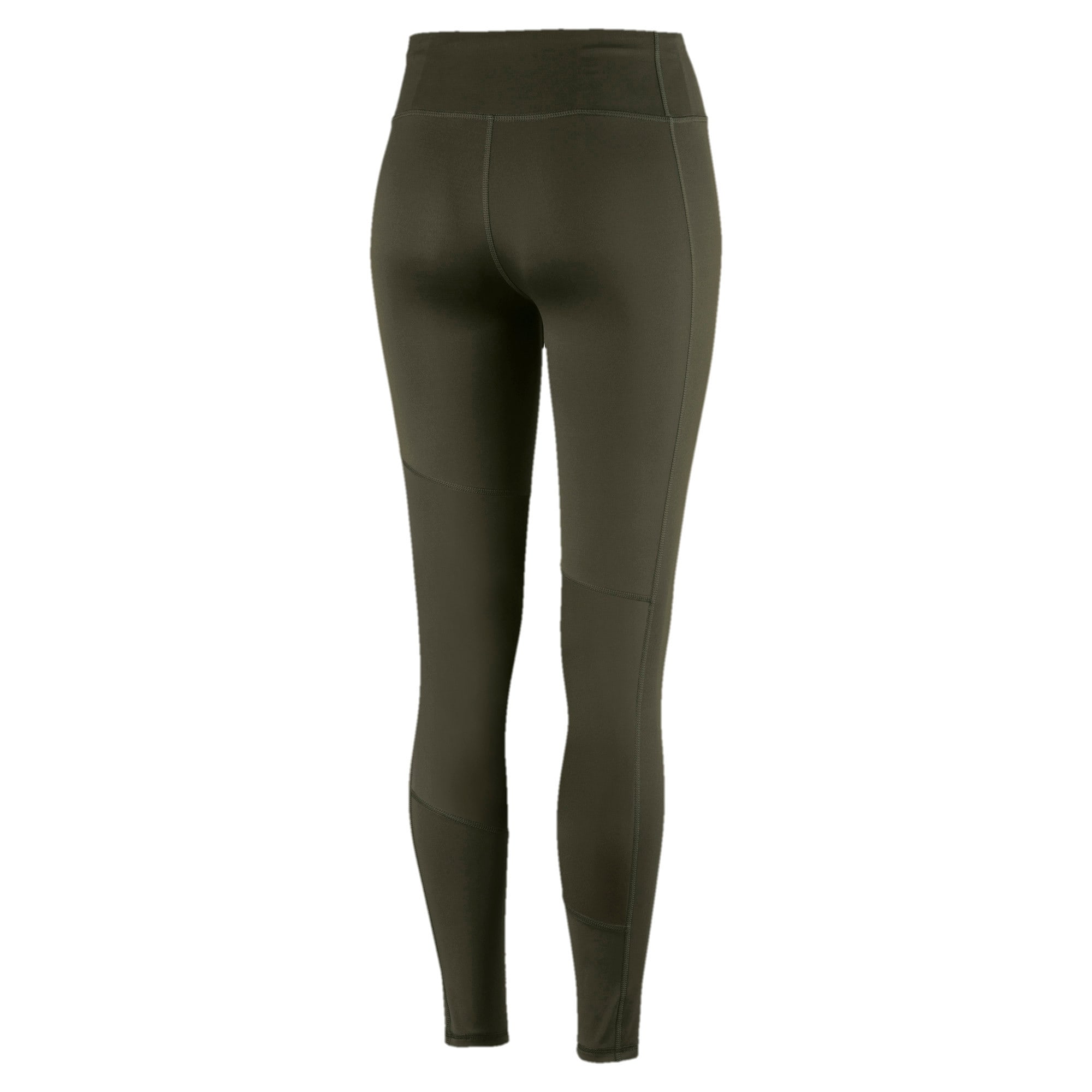 Thumbnail 4 of Always On Solid Women's 7/8 Training Leggings, Forest Night, medium-IND
