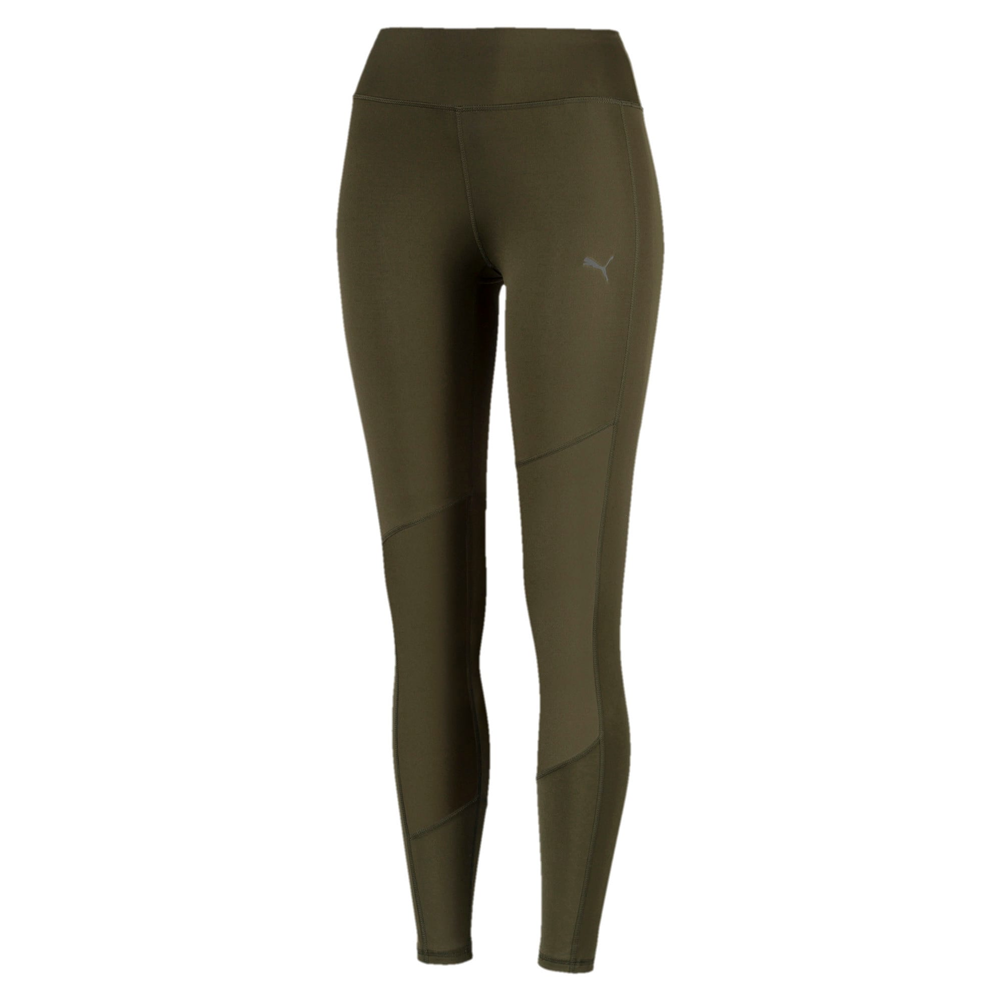 Thumbnail 3 of Always On Solid Women's 7/8 Training Leggings, Forest Night, medium-IND