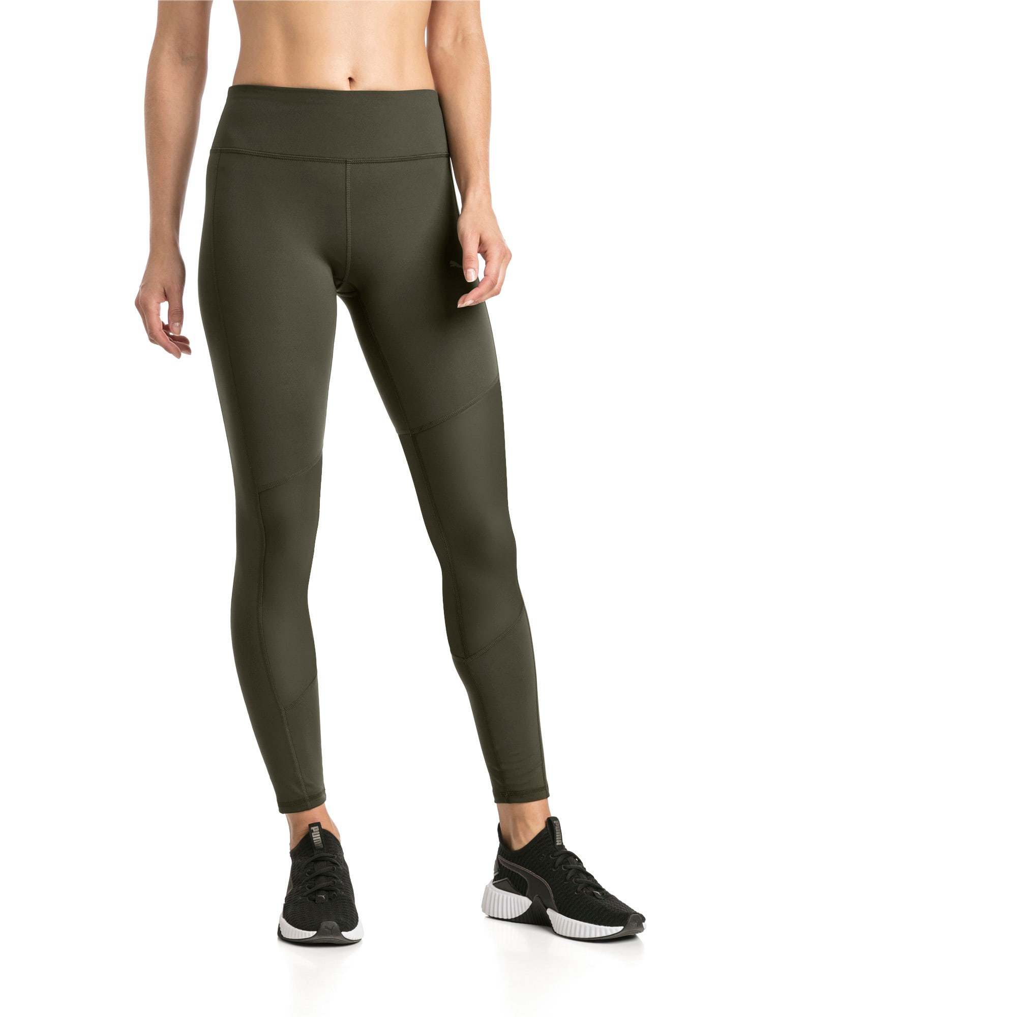 Thumbnail 1 of Always On Solid Women's 7/8 Training Leggings, Forest Night, medium-IND
