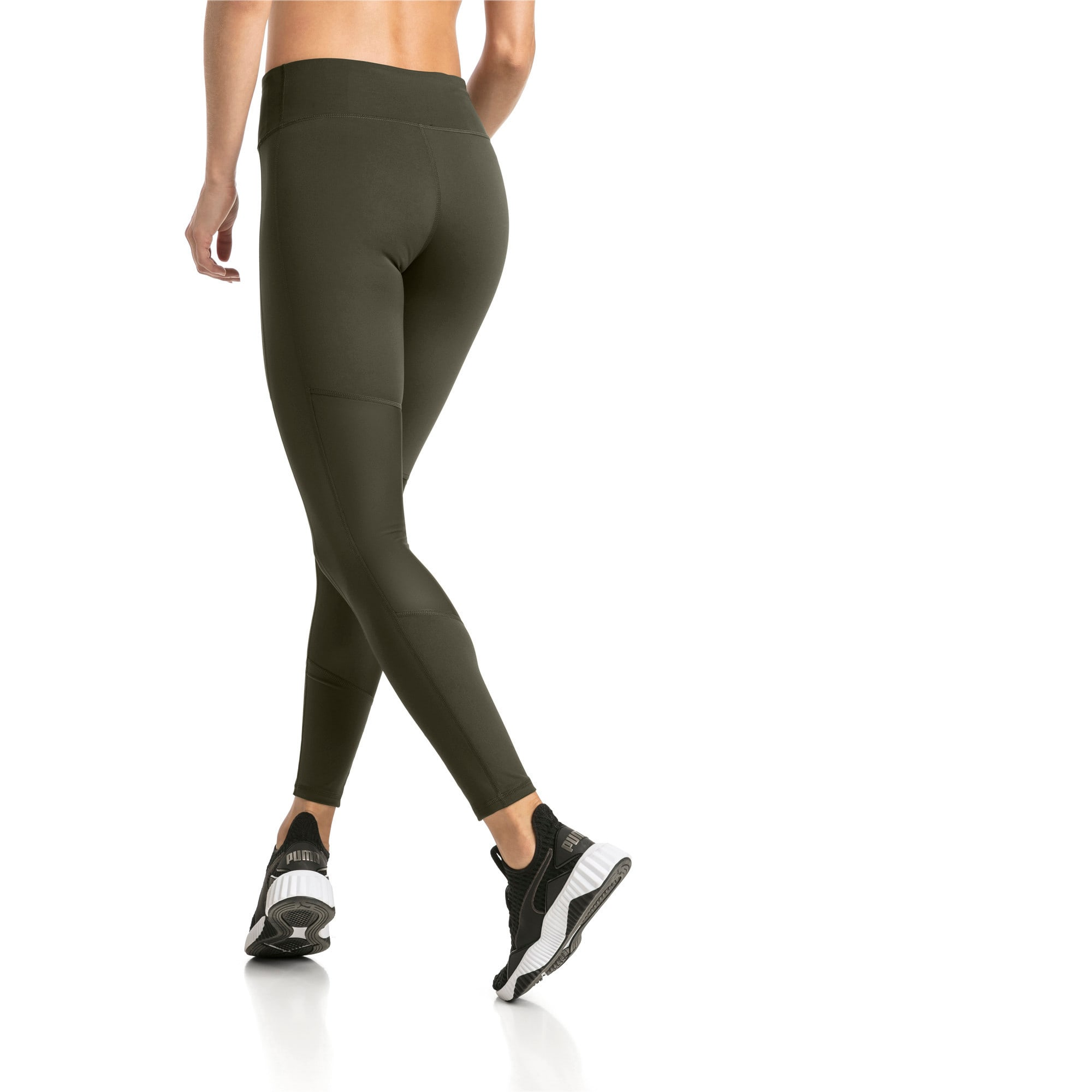 Thumbnail 2 of Always On Solid Women's 7/8 Training Leggings, Forest Night, medium-IND