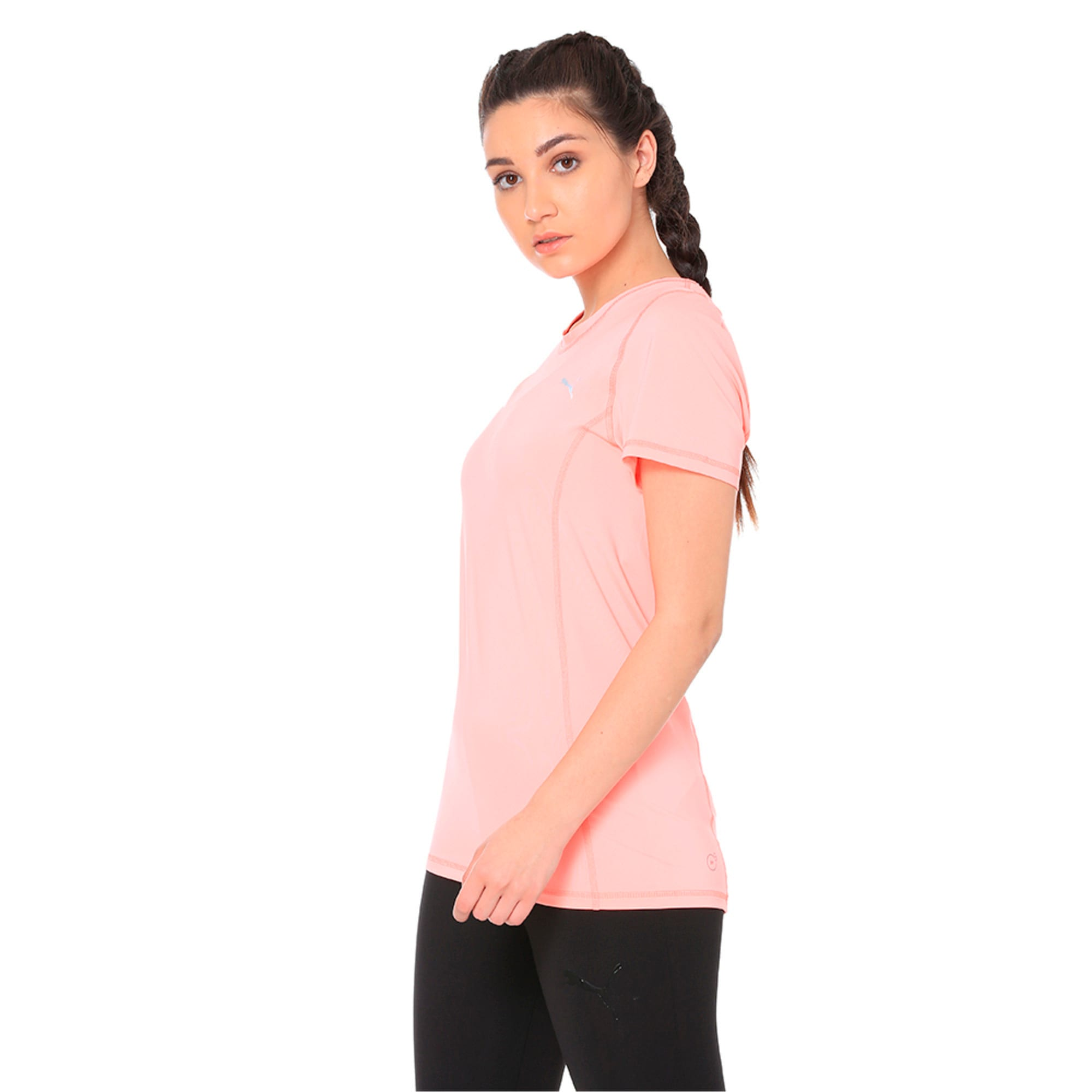 Thumbnail 2 of Essential Tee, Soft Fluo Peach, medium-IND