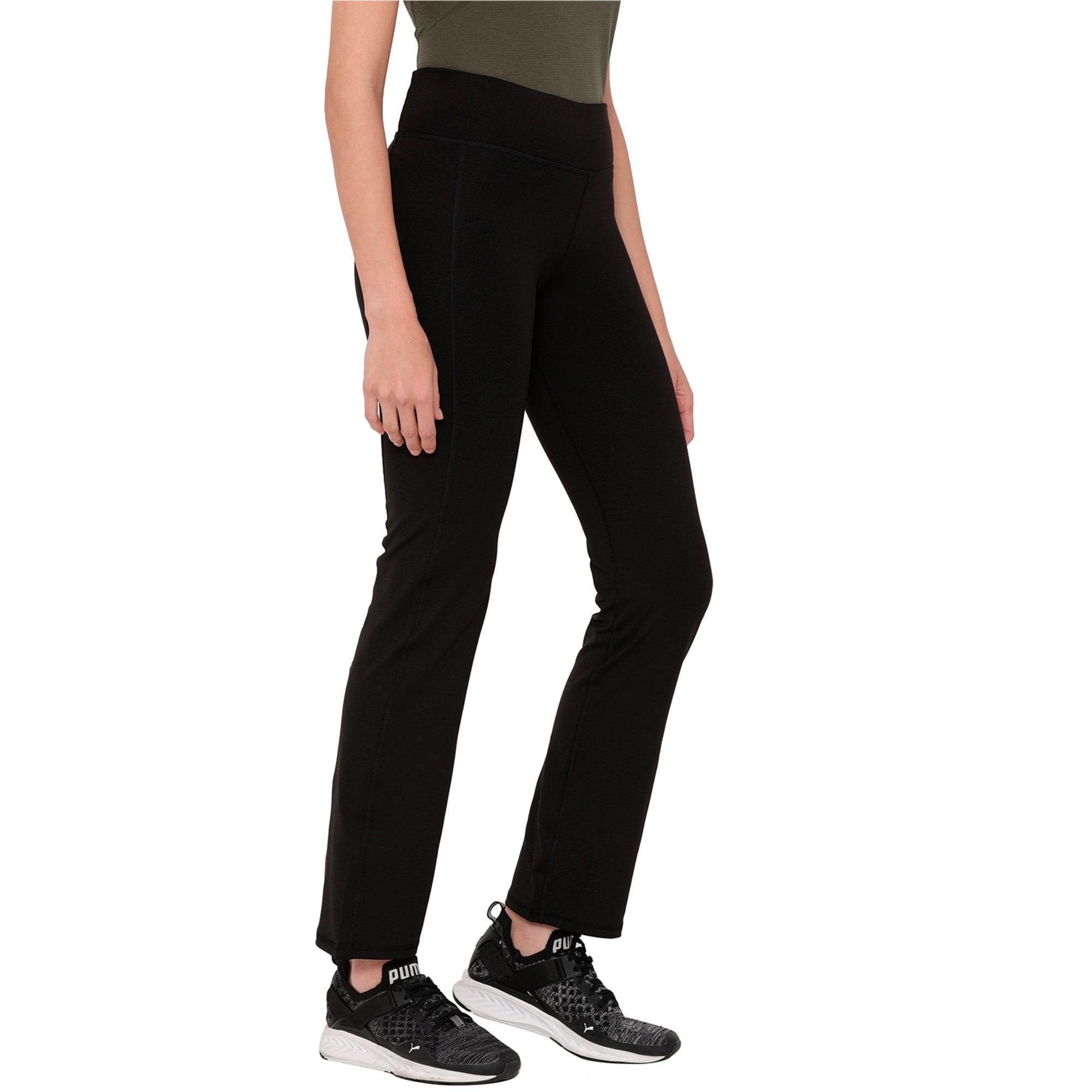 Thumbnail 2 of Essential Straight Leg, Puma Black, medium-IND