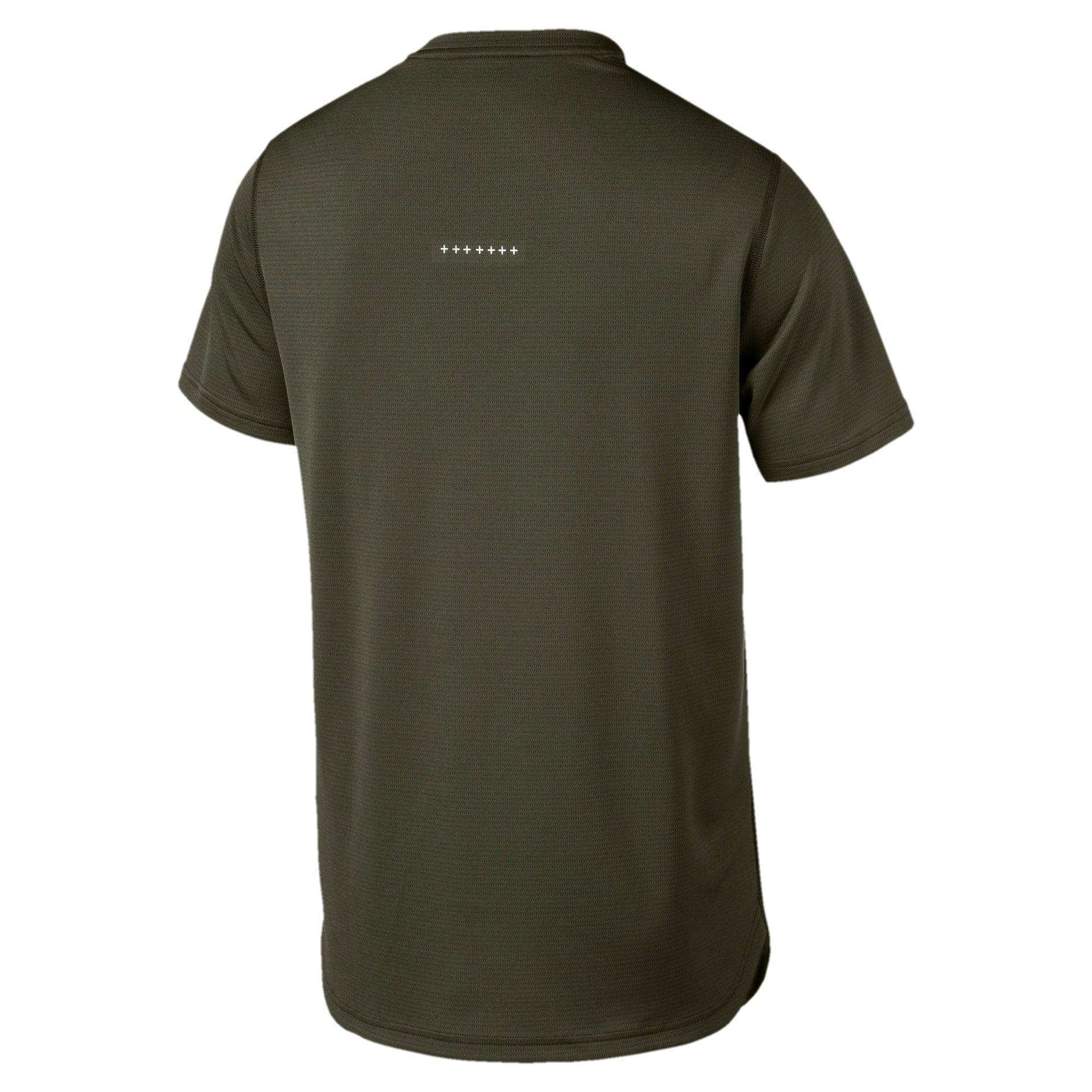 Thumbnail 5 of Running Men's IGNITE Mono T-Shirt, Forest Night, medium-IND