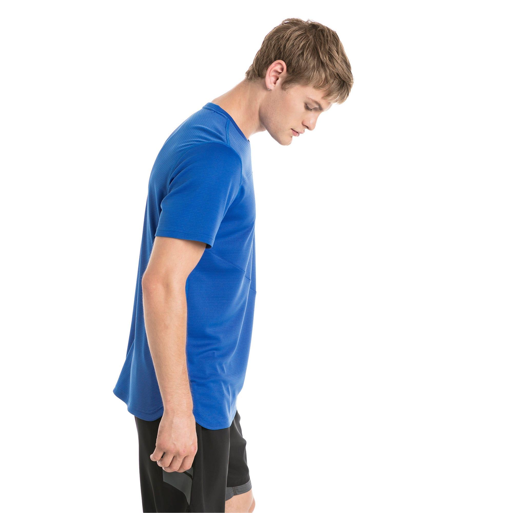 Thumbnail 1 of Running Men's IGNITE Mono T-Shirt, Strong Blue, medium-IND