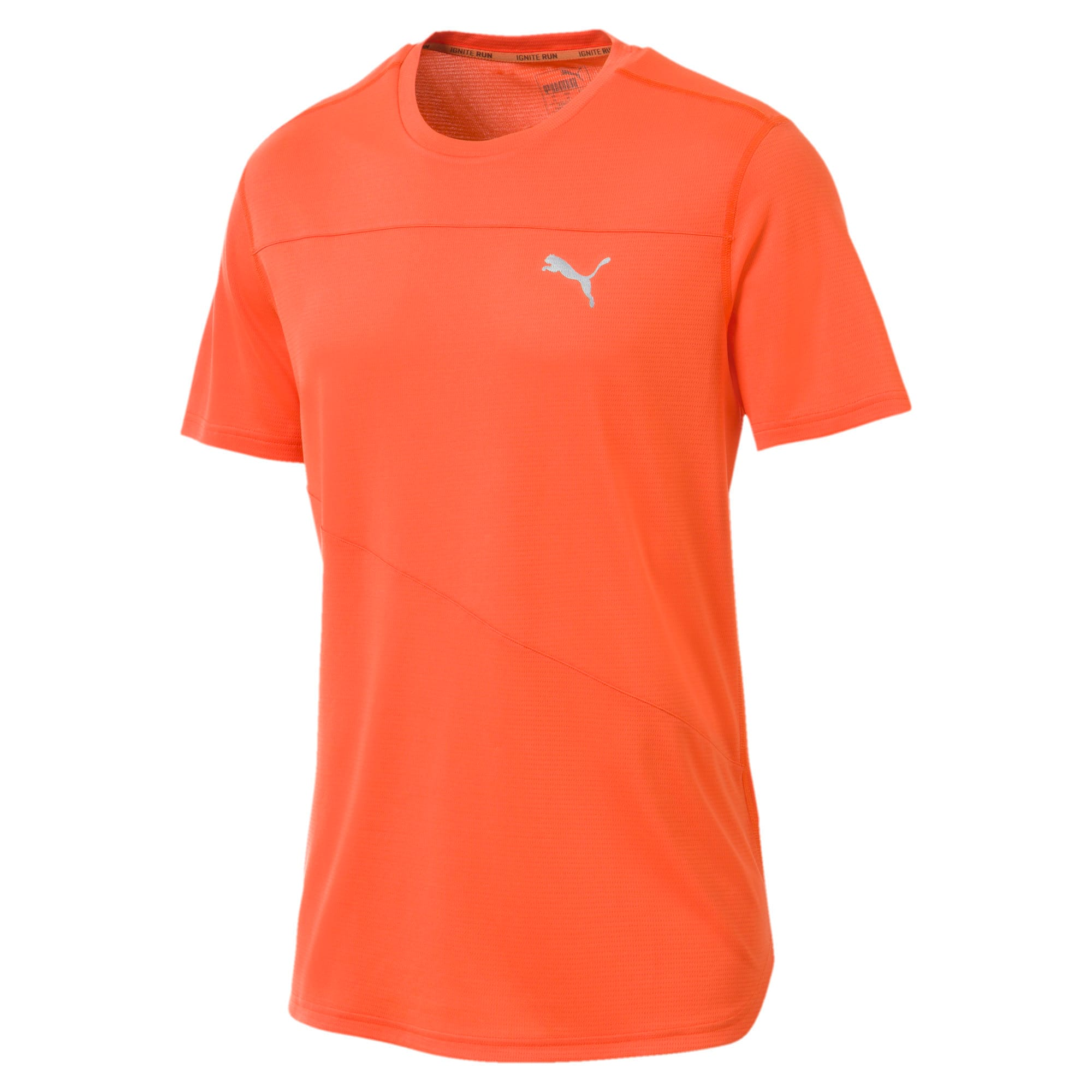 Thumbnail 4 of Running Men's IGNITE Mono T-Shirt, Firecracker, medium-IND