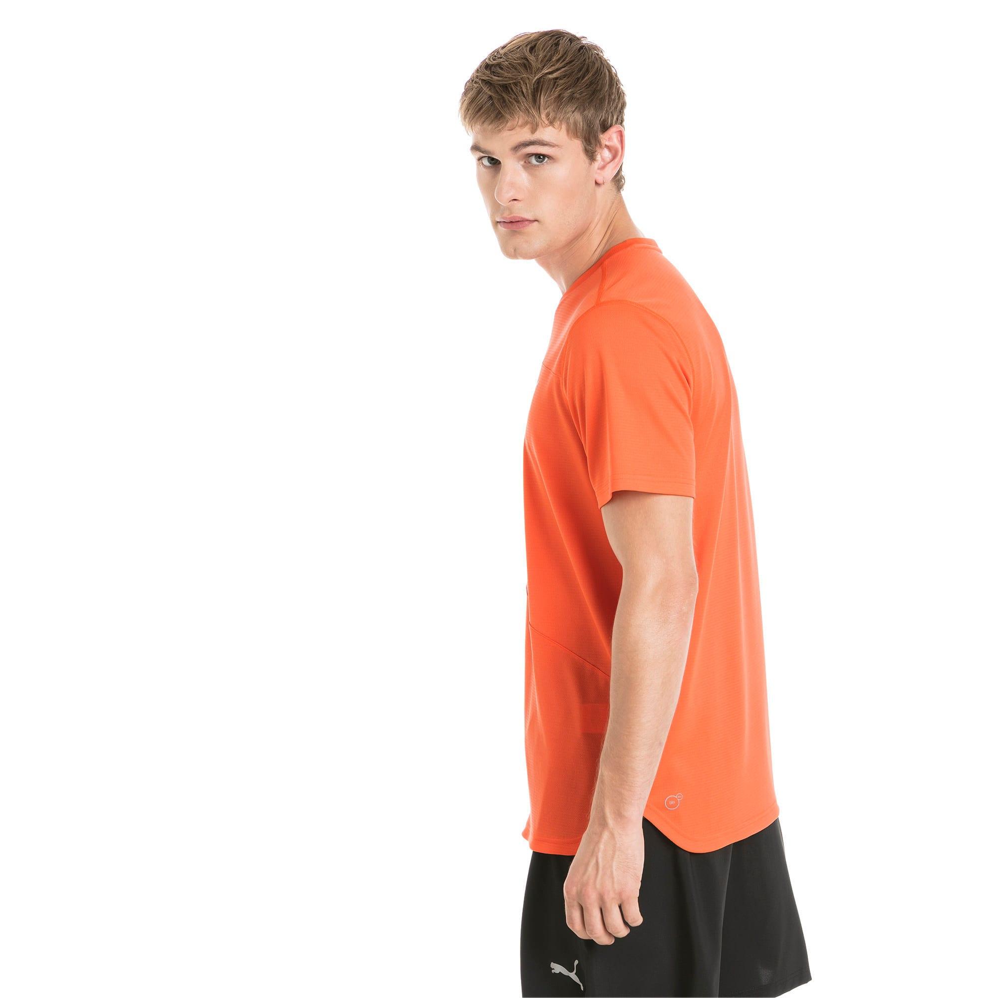 Thumbnail 2 of Running Men's IGNITE Mono T-Shirt, Firecracker, medium-IND