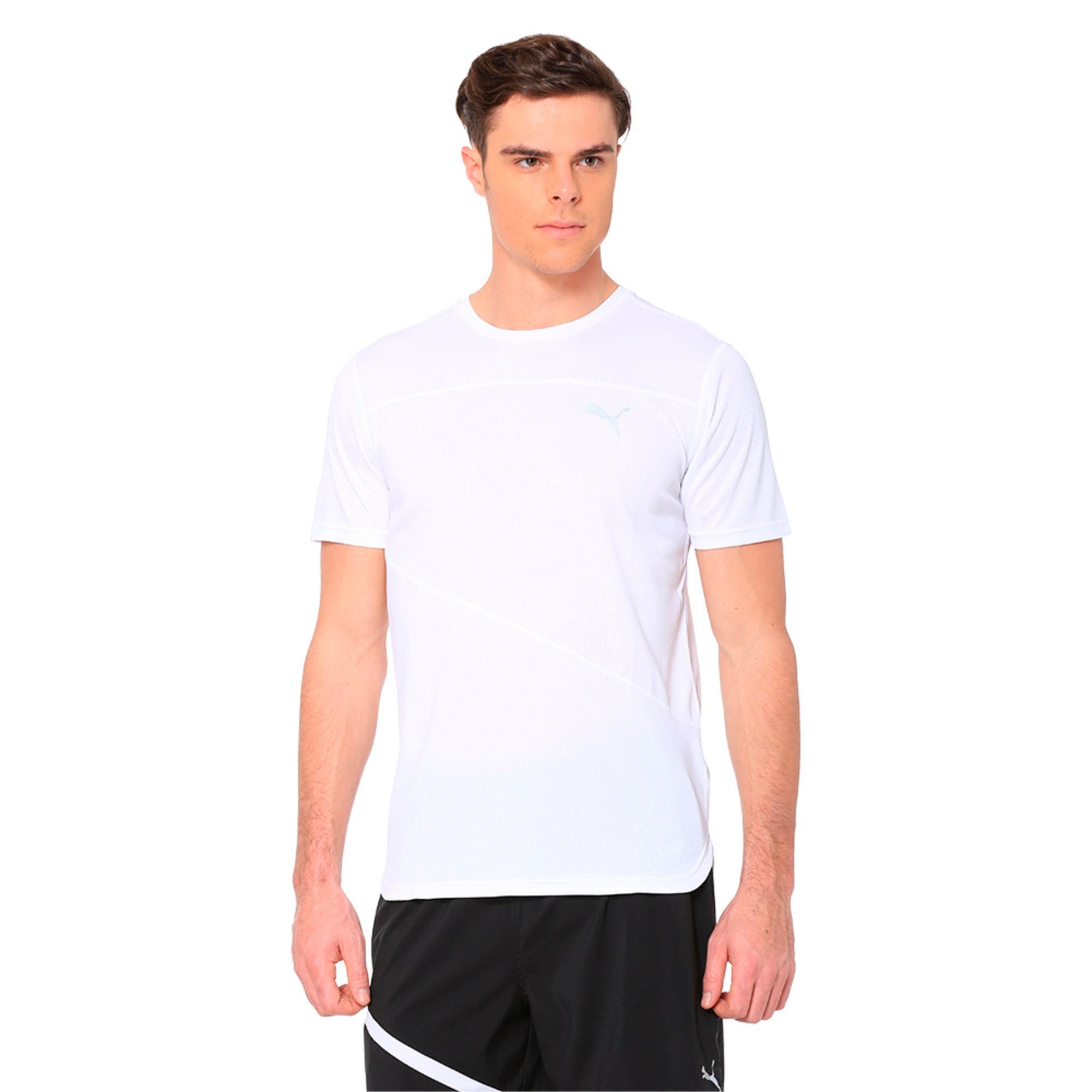 Thumbnail 1 of Running Men's IGNITE Mono T-Shirt, Puma White, medium-IND