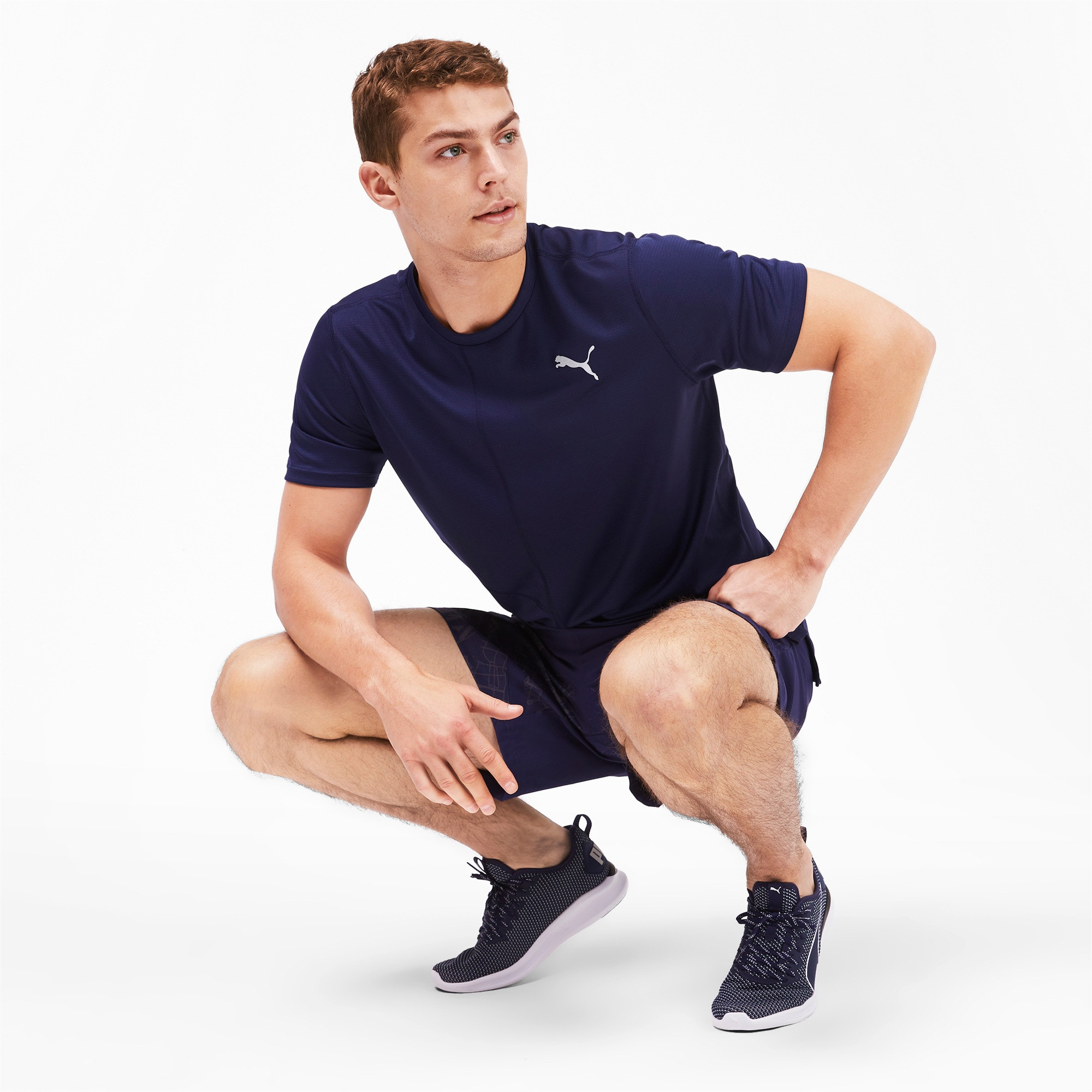 Thumbnail 3 of IGNITE Men's Running T-Shirt, Peacoat, medium