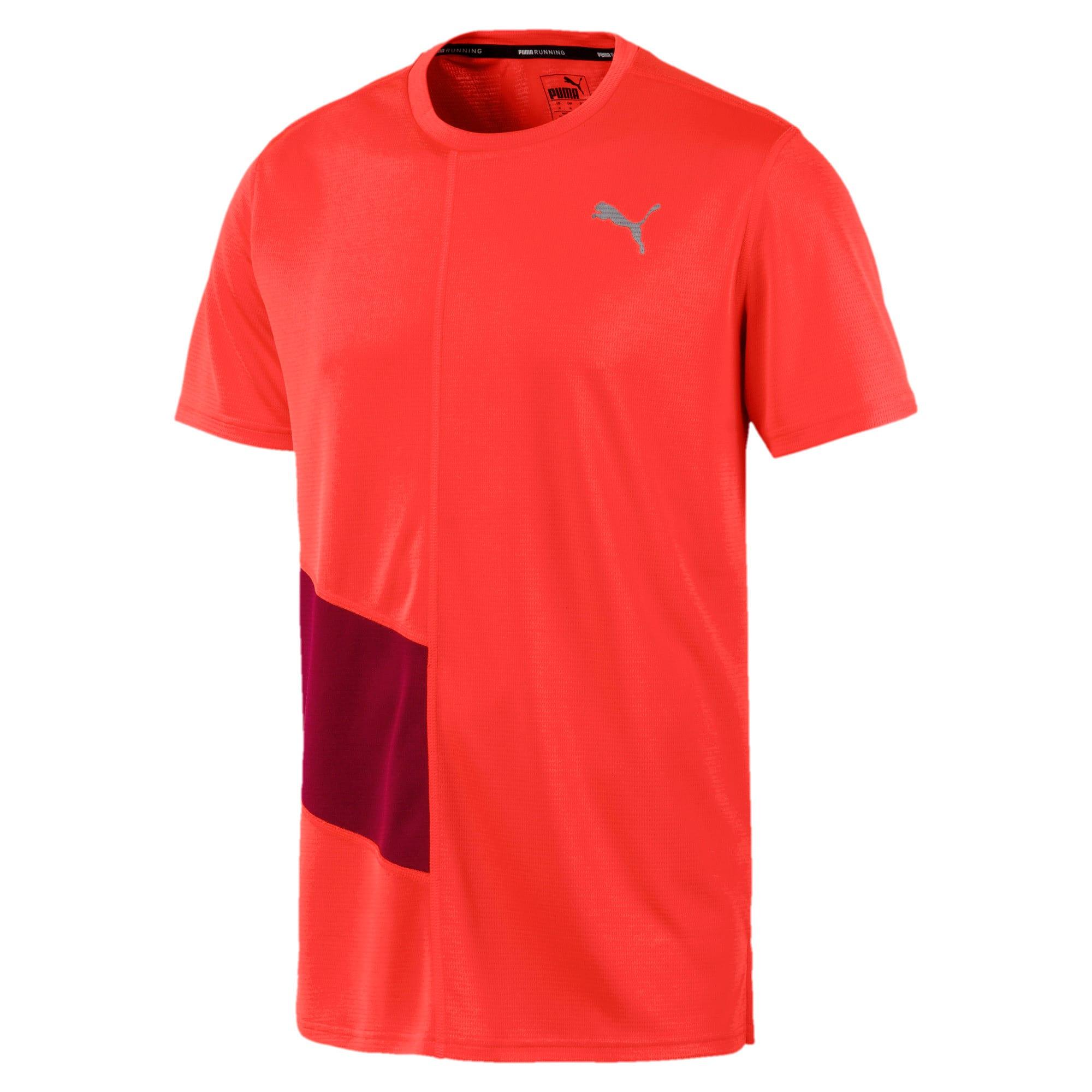 Thumbnail 4 van IGNITE hardloopshirt voor mannen, Nrgy Red-Rhubarb, medium