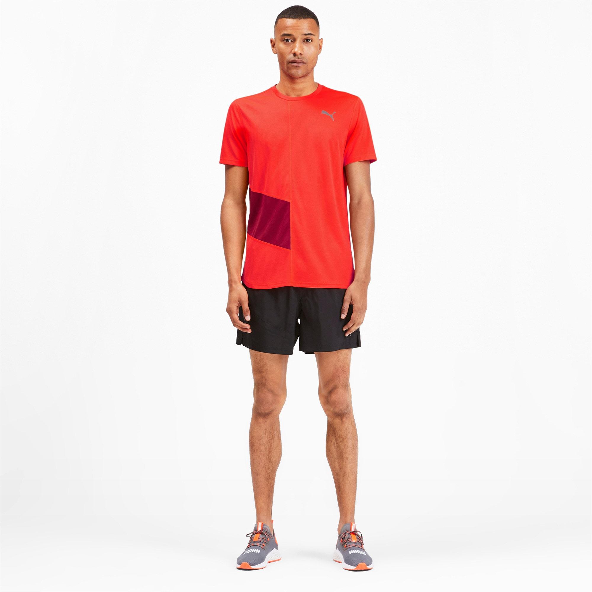 Thumbnail 3 van IGNITE hardloopshirt voor mannen, Nrgy Red-Rhubarb, medium