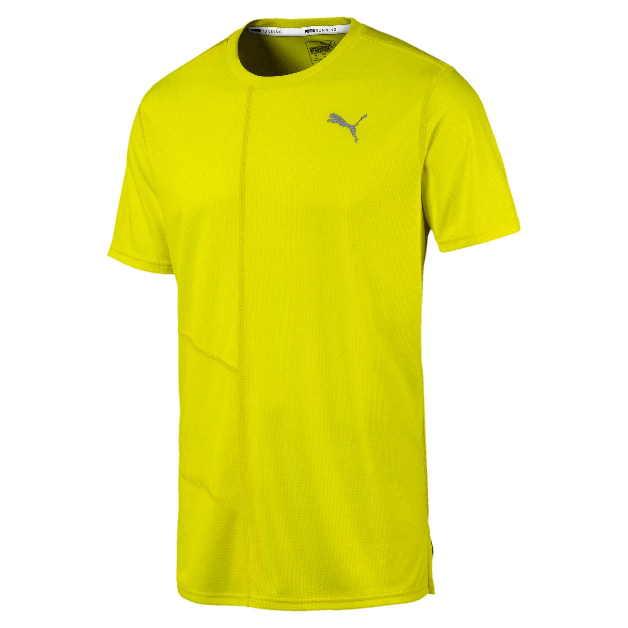 Thumbnail 4 van IGNITE hardloopshirt voor mannen, Yellow Alert, medium