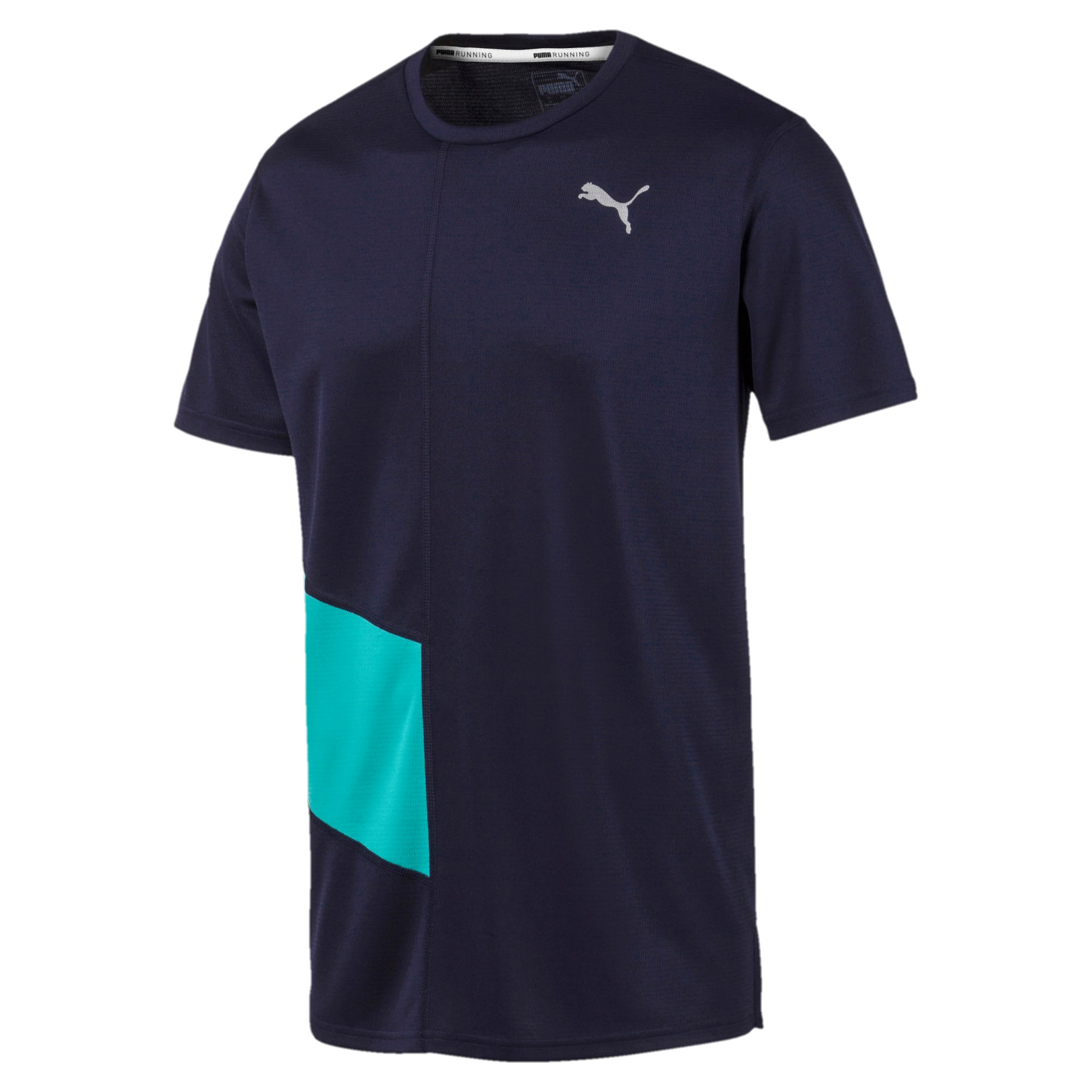 Thumbnail 4 van IGNITE hardloopshirt voor mannen, Peacoat-blauwturquoise, medium
