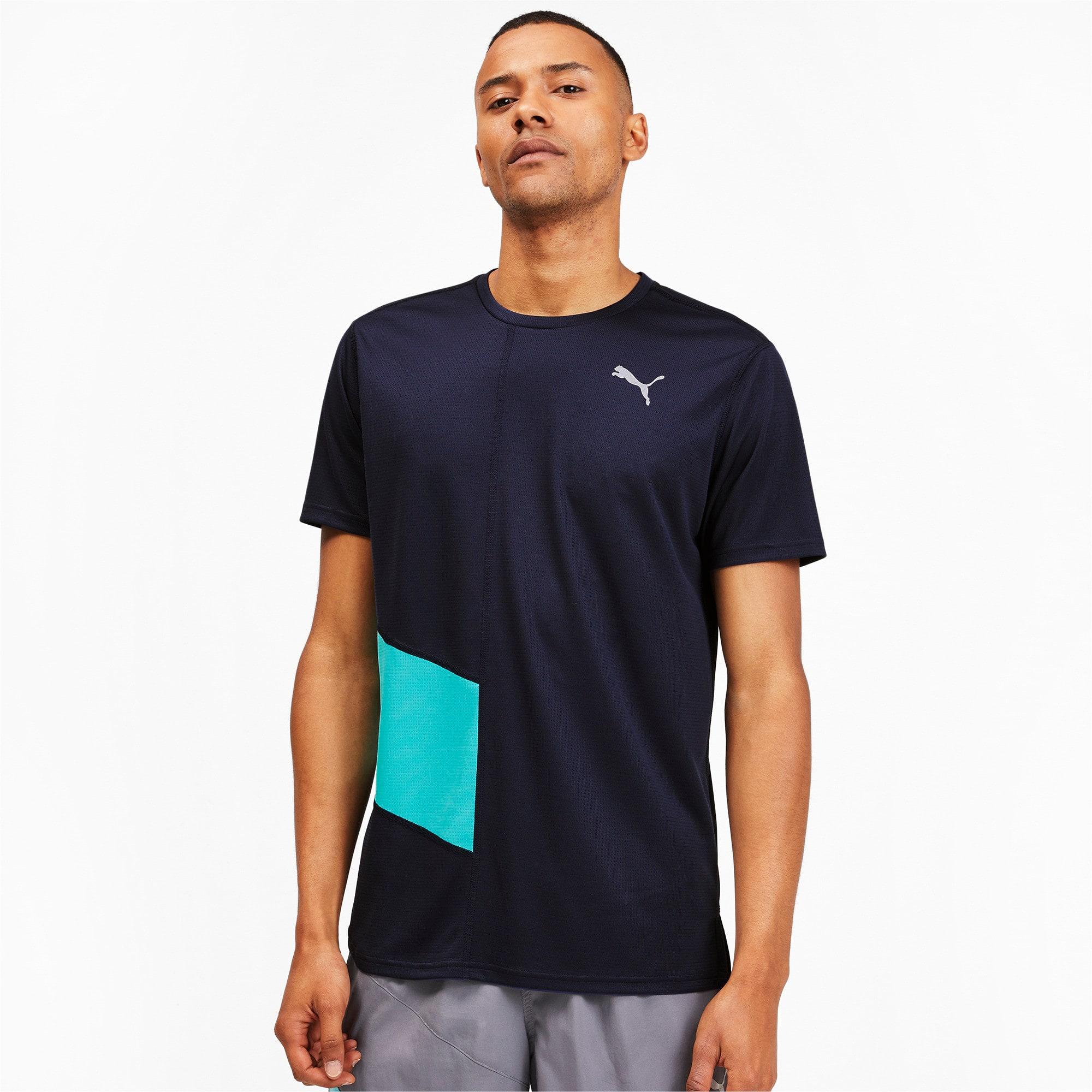 Thumbnail 1 van IGNITE hardloopshirt voor mannen, Peacoat-blauwturquoise, medium