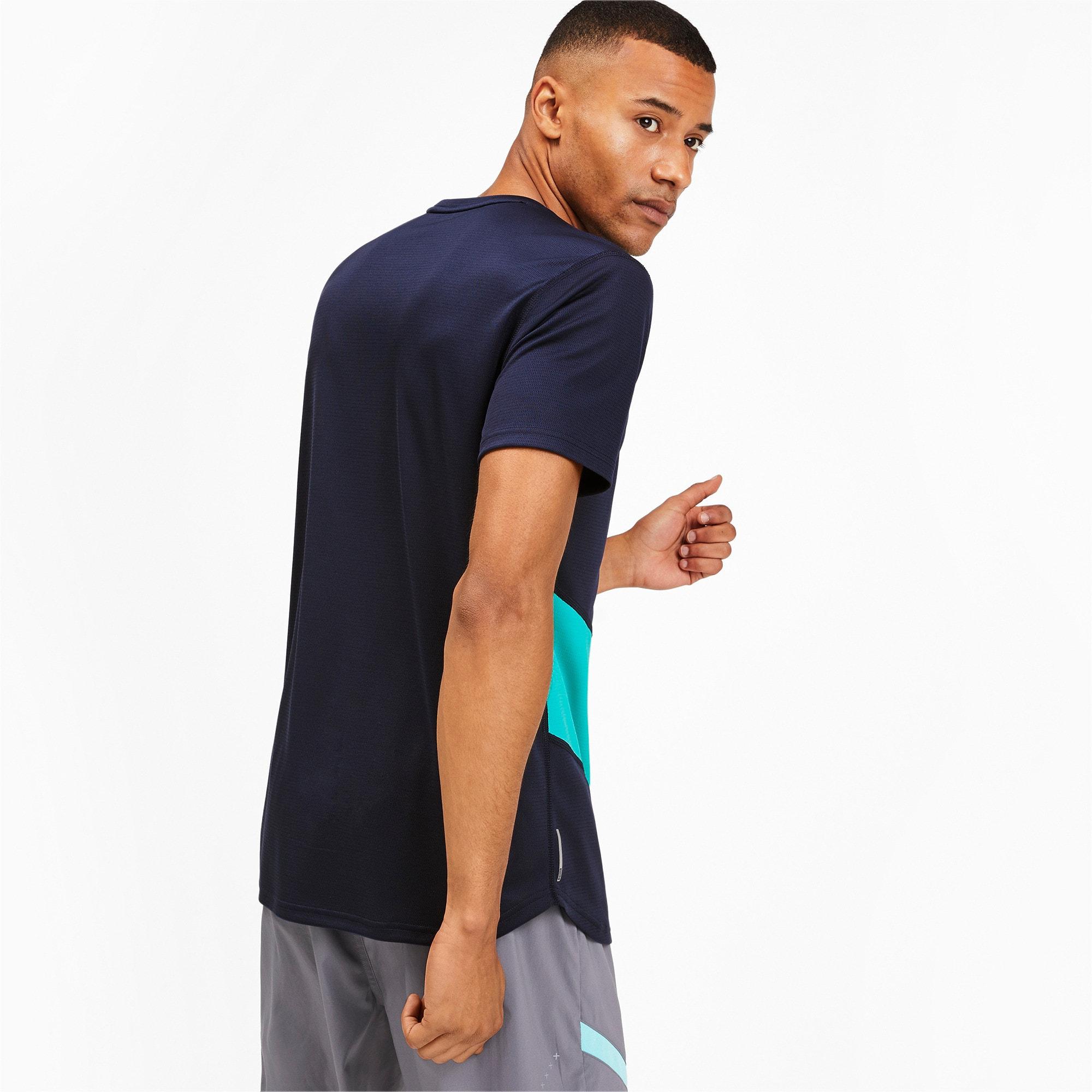 Thumbnail 2 van IGNITE hardloopshirt voor mannen, Peacoat-blauwturquoise, medium