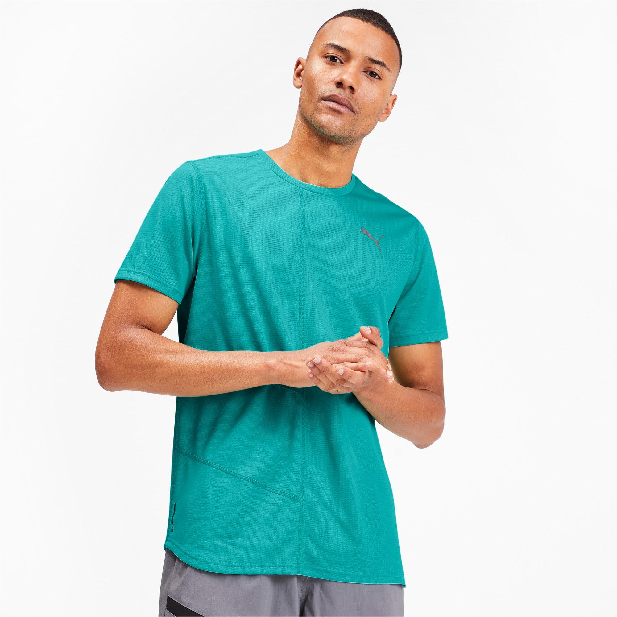 Thumbnail 1 of IGNITE Men's Running T-Shirt, Blue Turquoise, medium