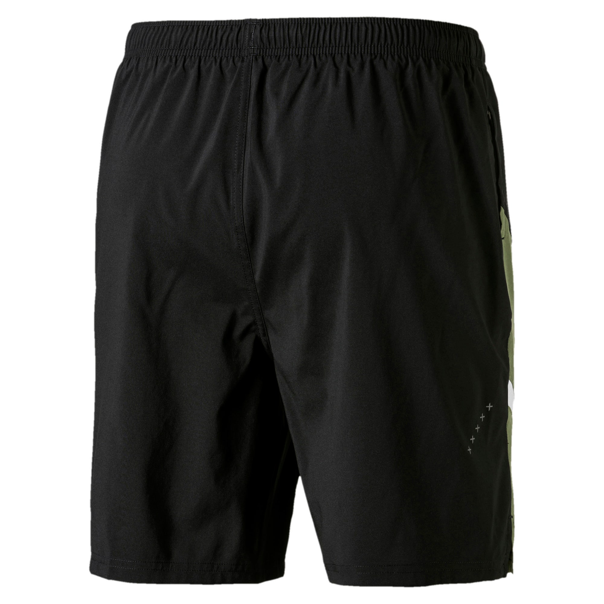 Thumbnail 5 van Geweven IGNITE trainingsshort voor mannen, Puma Black-Olivine, medium