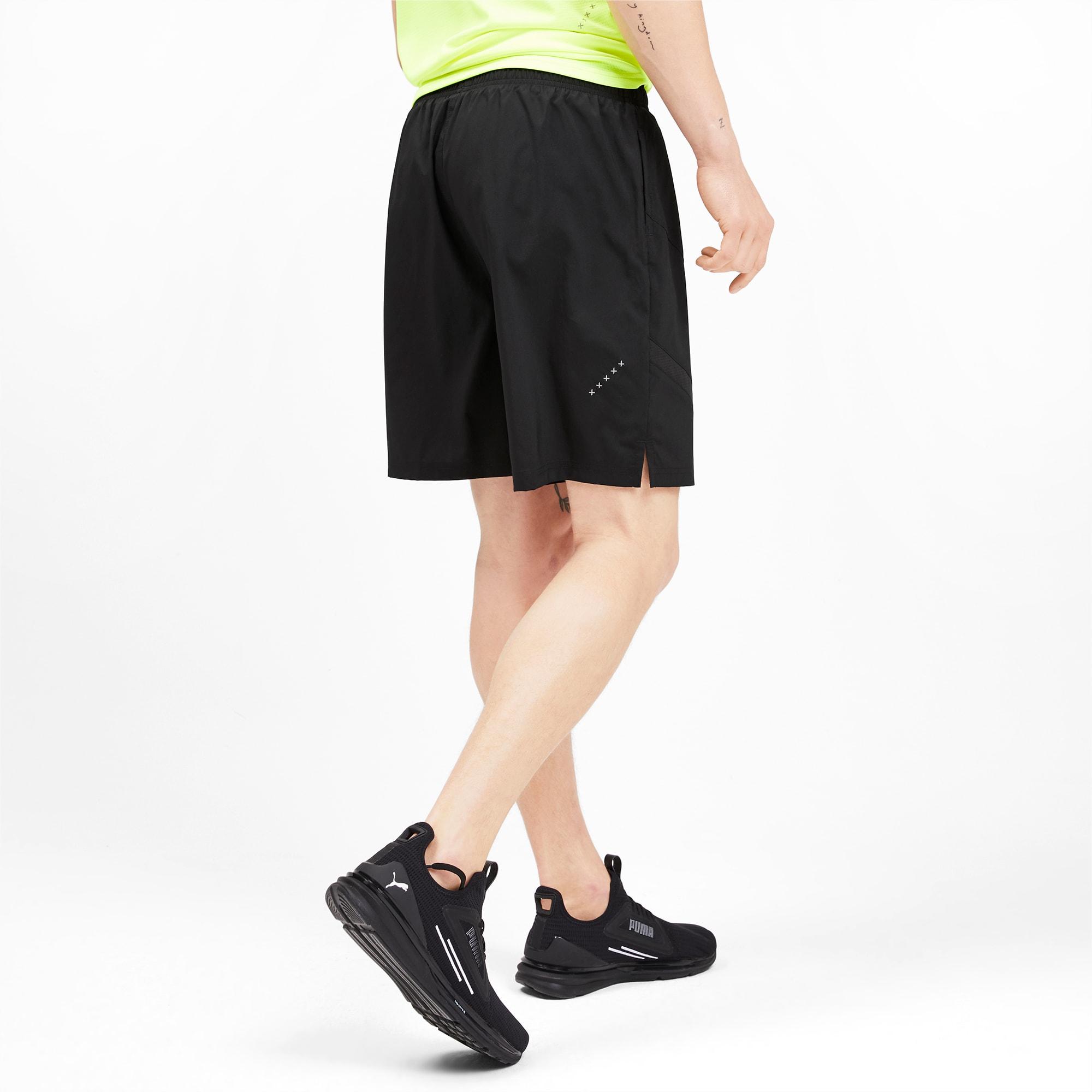IGNITE Herren Gewebte Running Shorts | Puma Black Puma Black